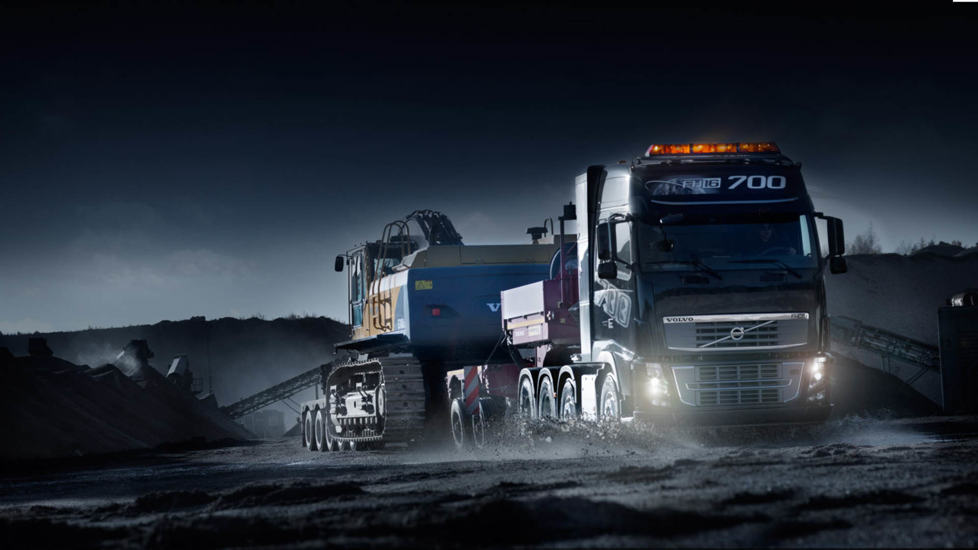 1920x1080 Amazing Volvo Truck Wallpaper #9750 Wallpaper | Wallpaper Screen .