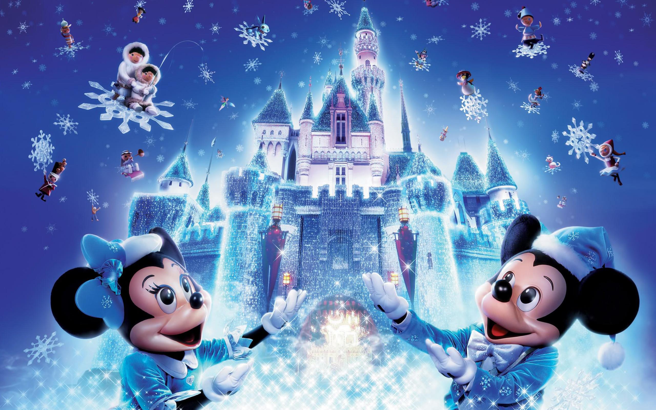 2560x1600 Disney Christmas Wallpapers