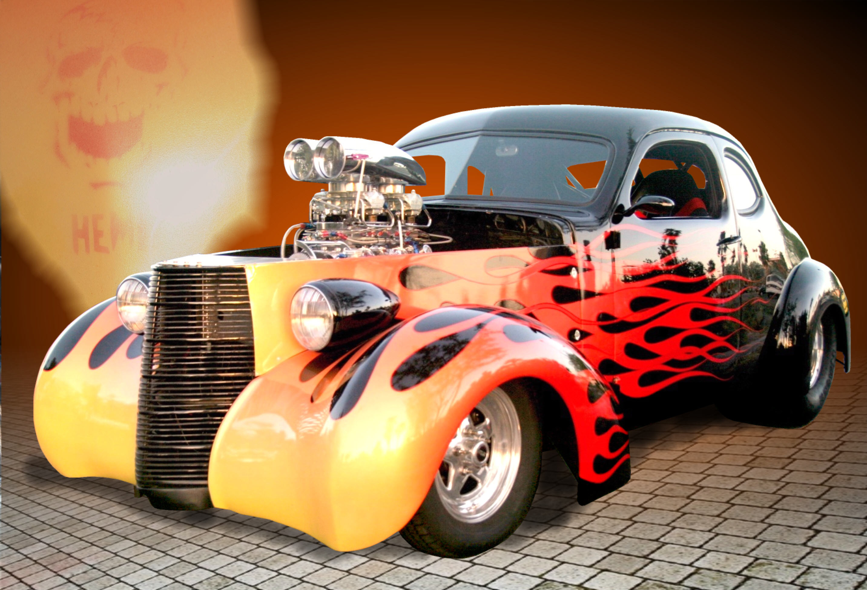 2864x1950 Hot Rod Cars Wallpaper images