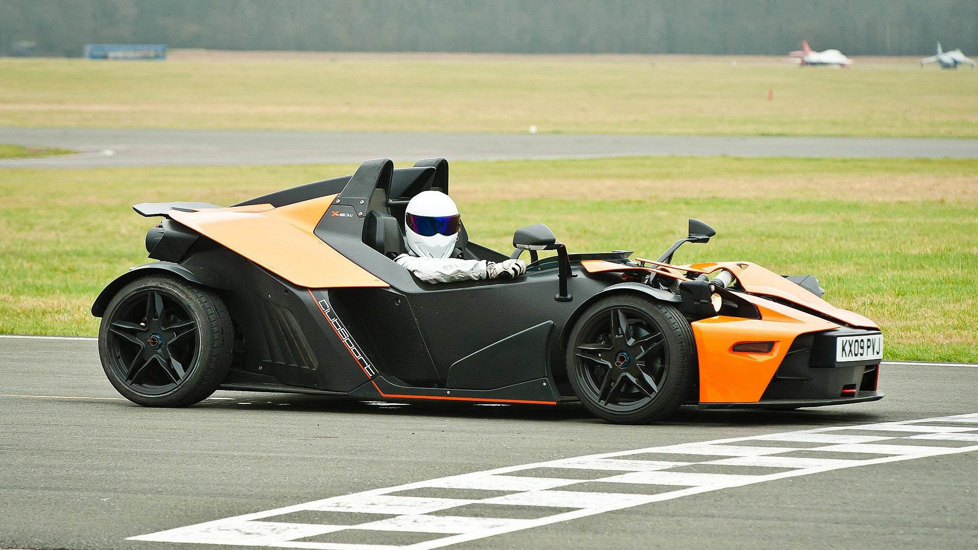 1920x1080 The Stig in a KTM X-Bow  wallpaper