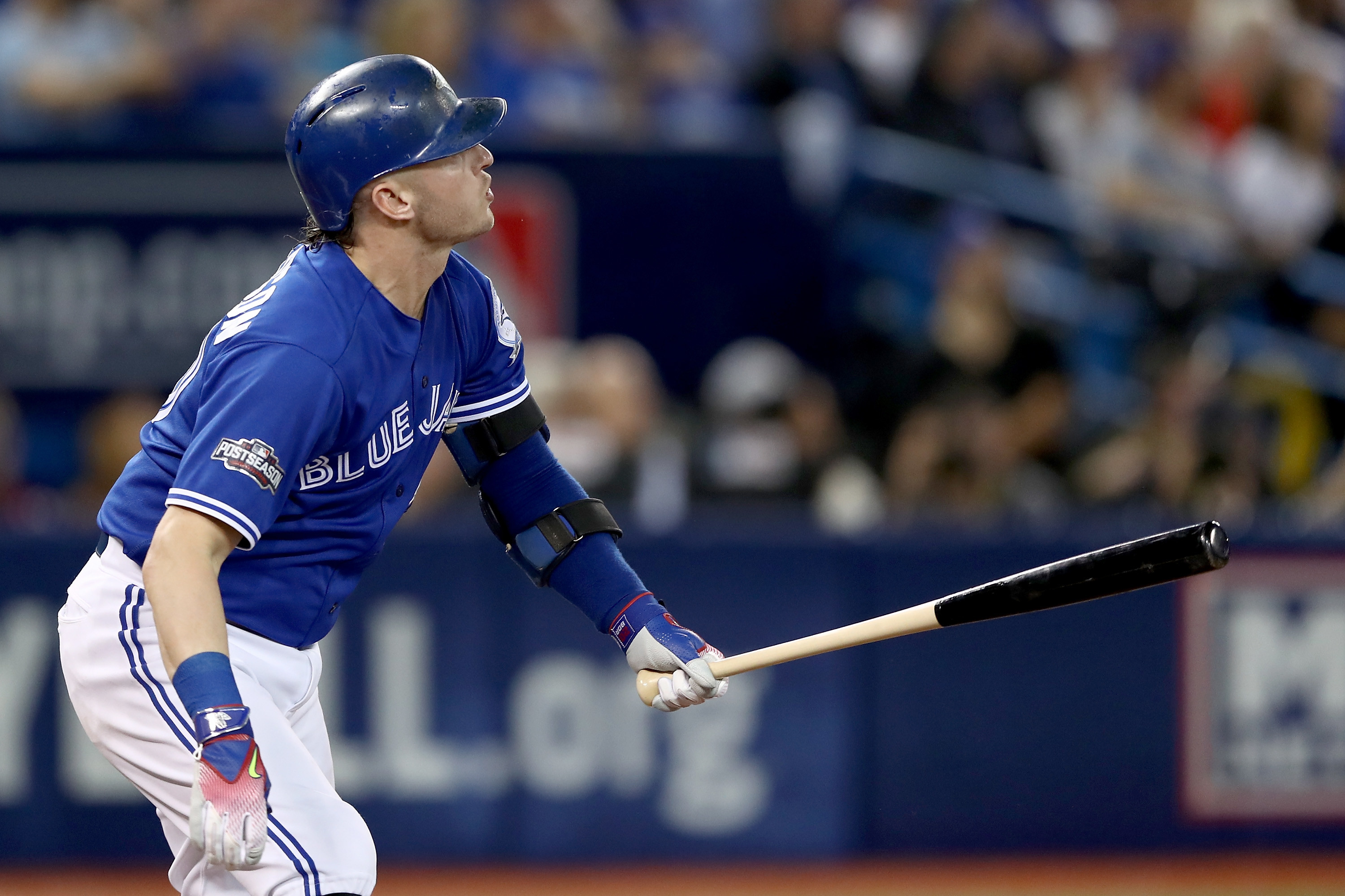 3000x2000 Josh Donaldson of the Toronto Blue Jays hits a solo home run in the third  inning