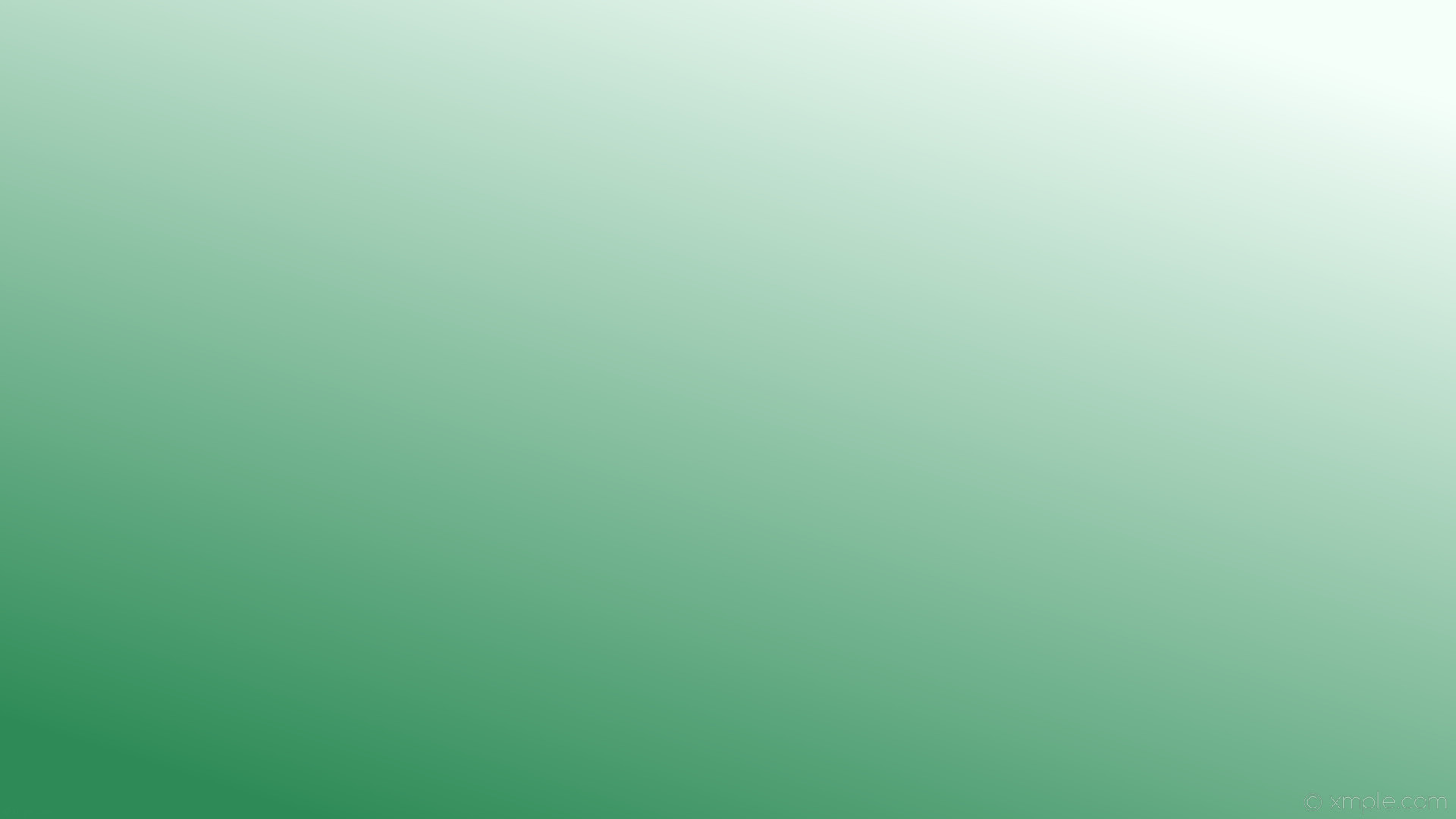 1920x1080 wallpaper white green linear gradient sea green mint cream #2e8b57 #f5fffa  225°