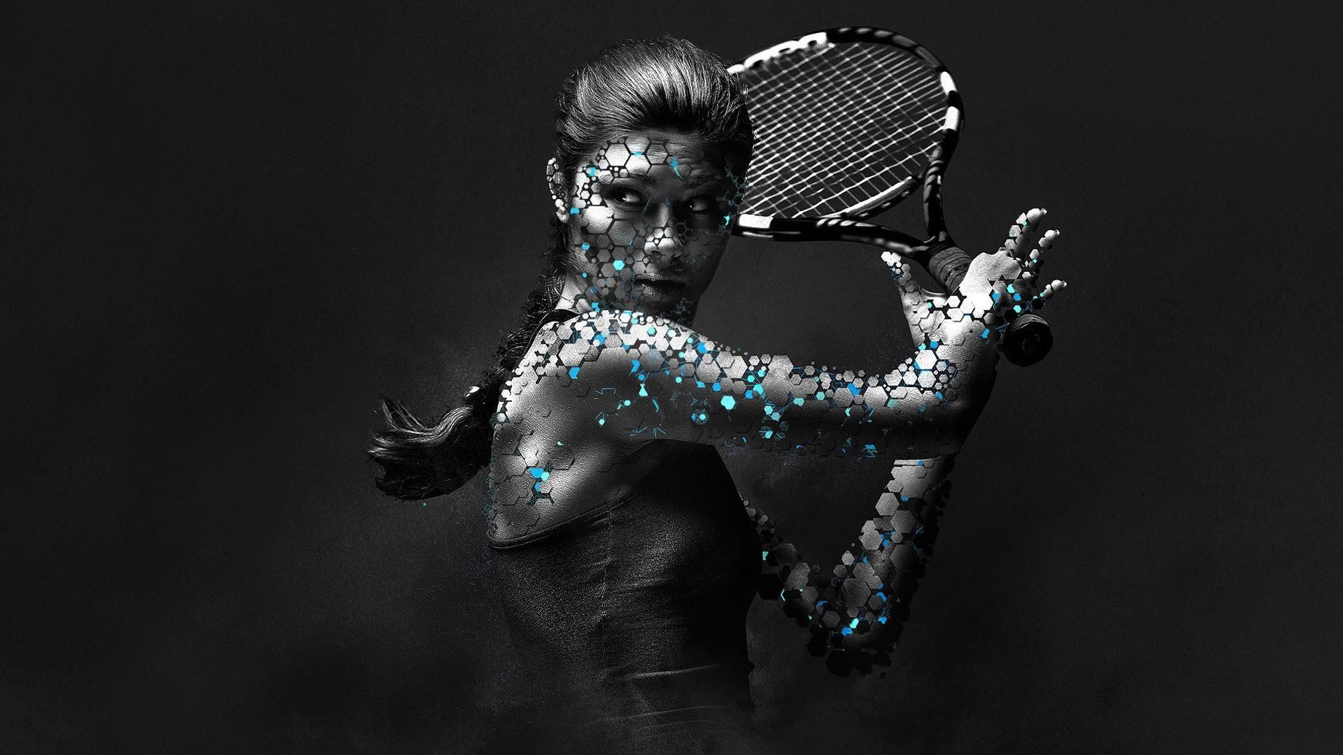 1920x1080 Woman Tennis Player 1080p HD Wallpaper Sports