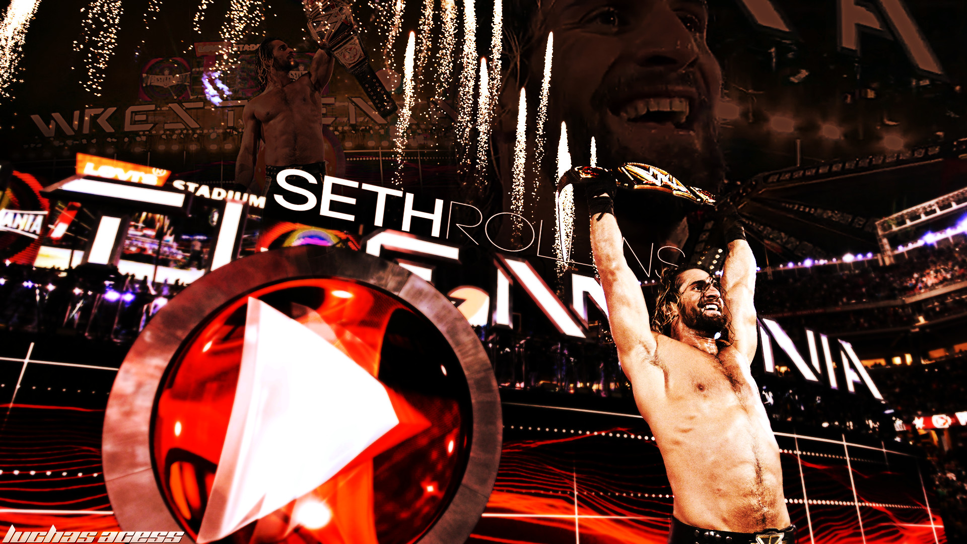 Seth Rollins Hd Wallpaper 76 Images