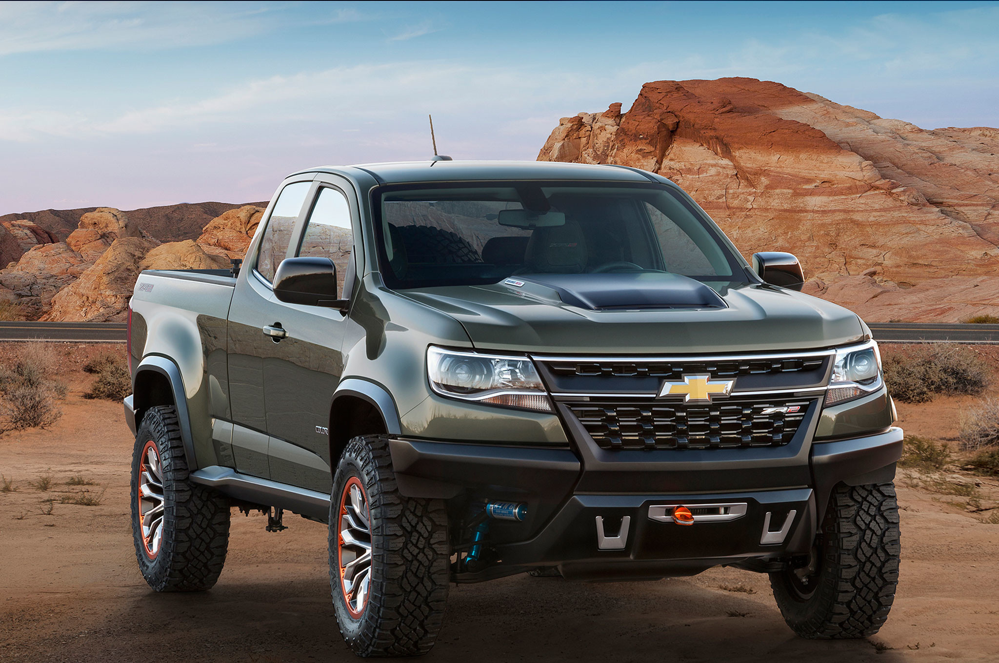 2048x1360 2015 Chevrolet Colorado ZR2 Concept