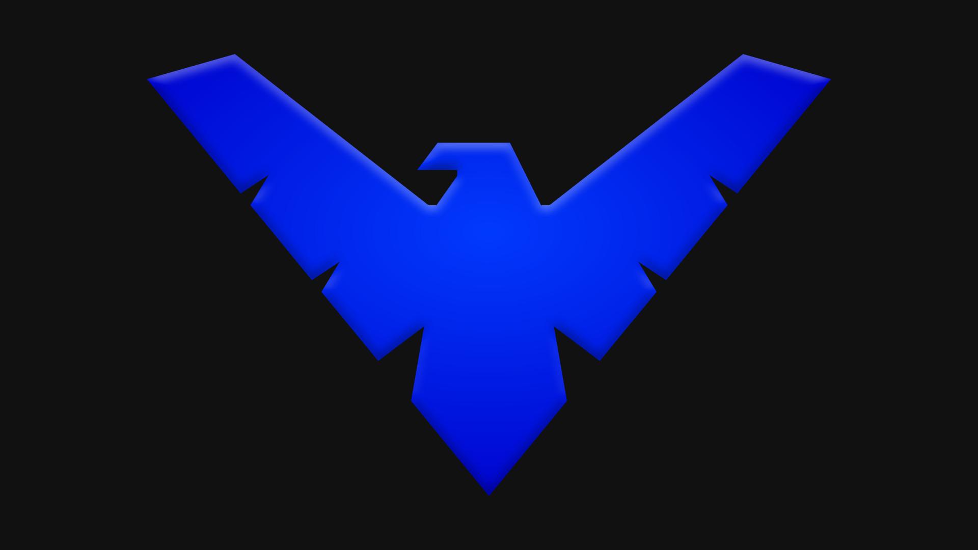 Nightwing Logo Wallpaper  WallpaperSafari