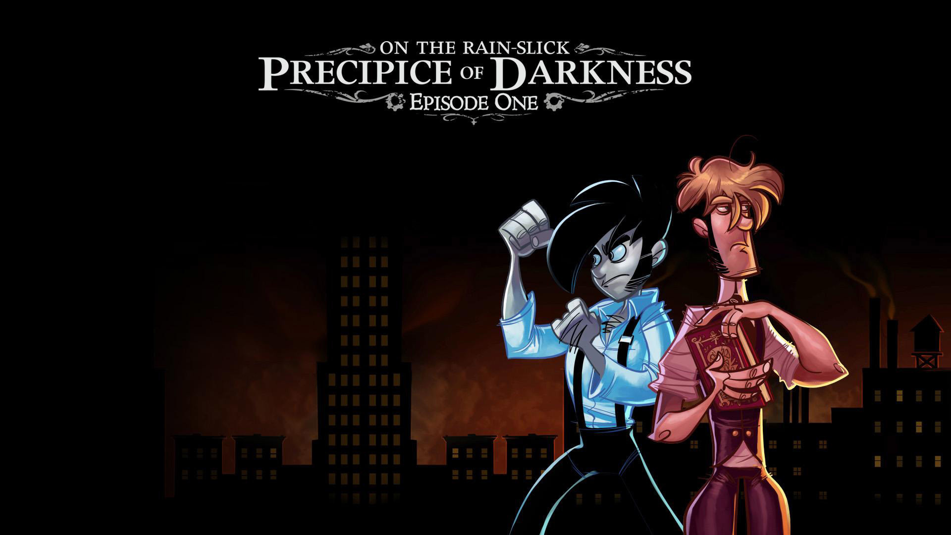 1920x1080 Penny Arcade Adventures: On the Rain-Slick Precipice of Dark HD Wallpaper