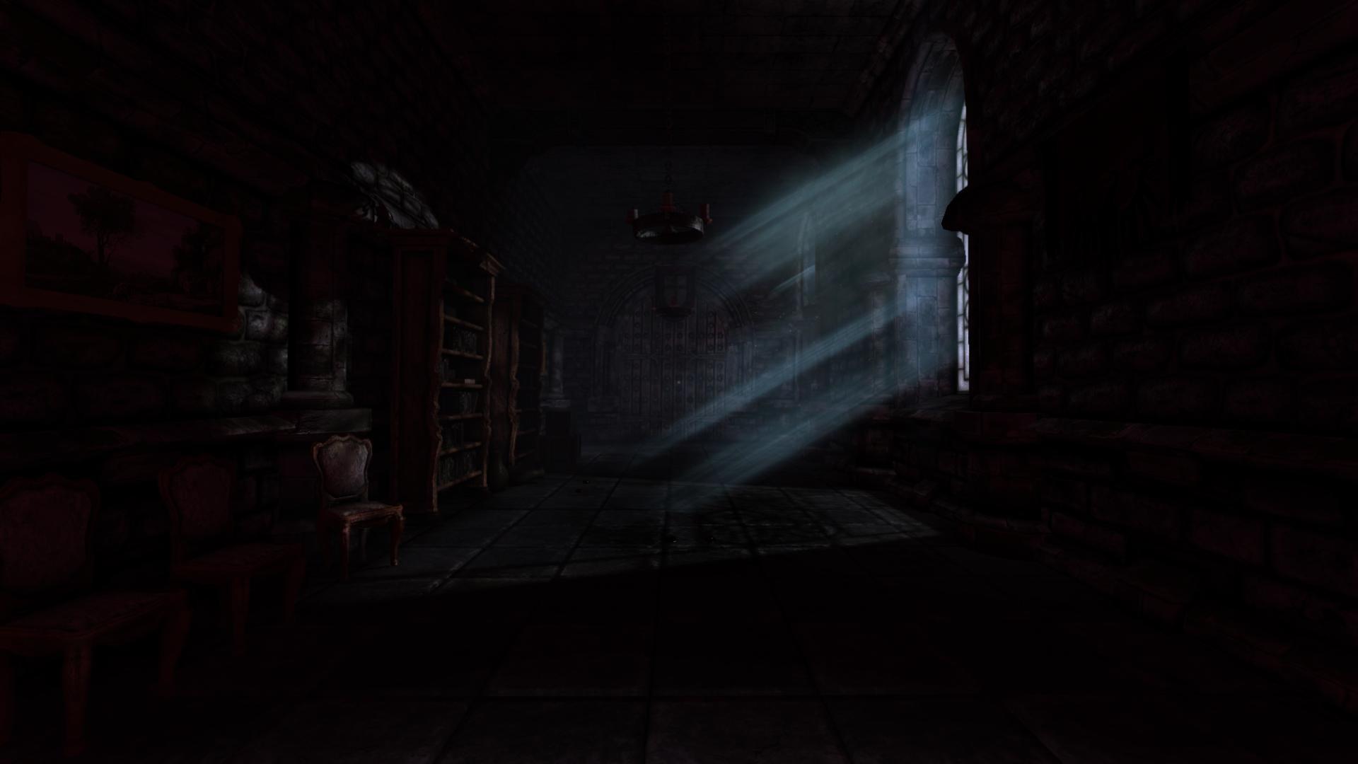 Game Room Black Background