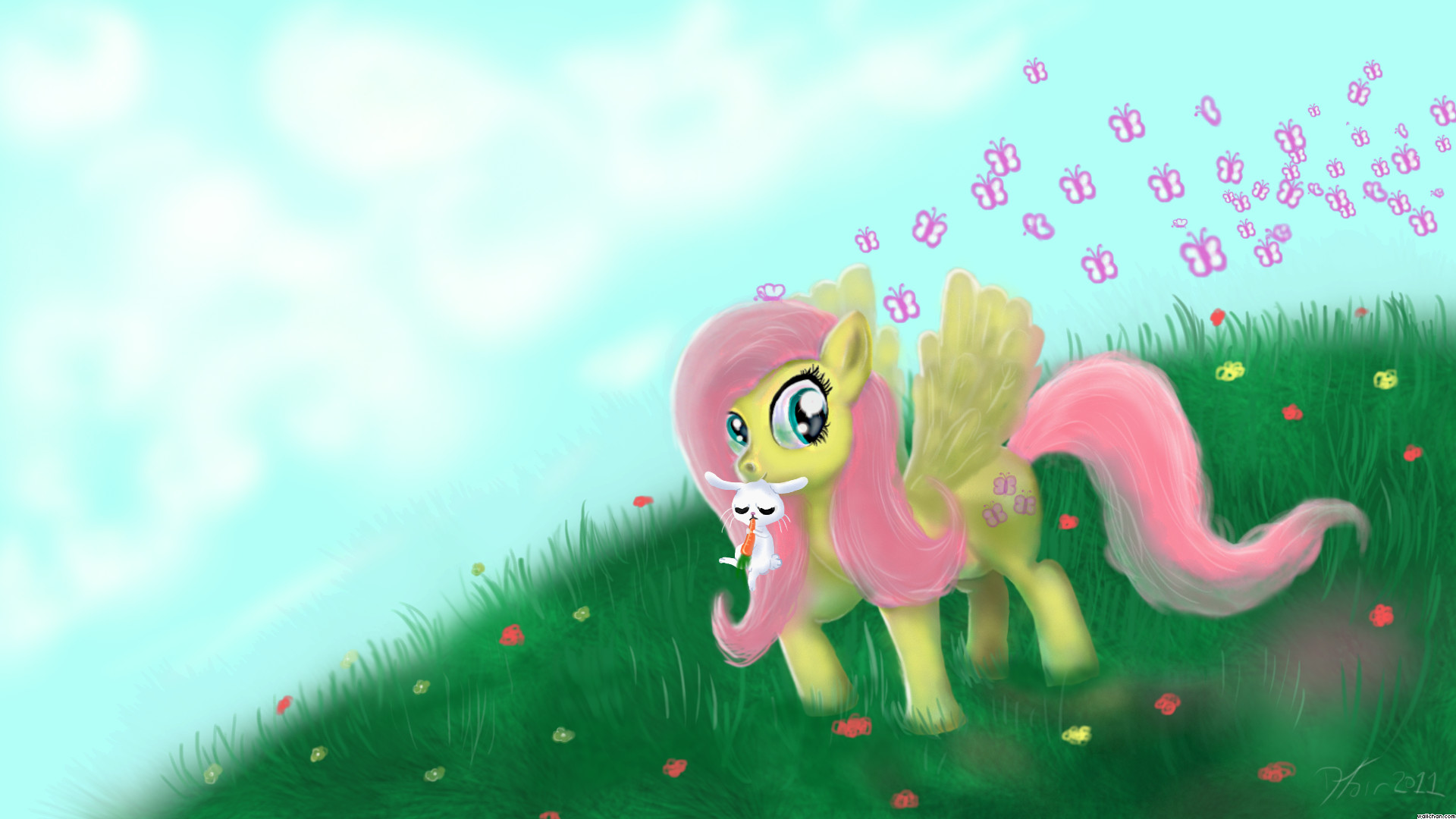 1920x1080 My Little Pony Fluttershy 485718