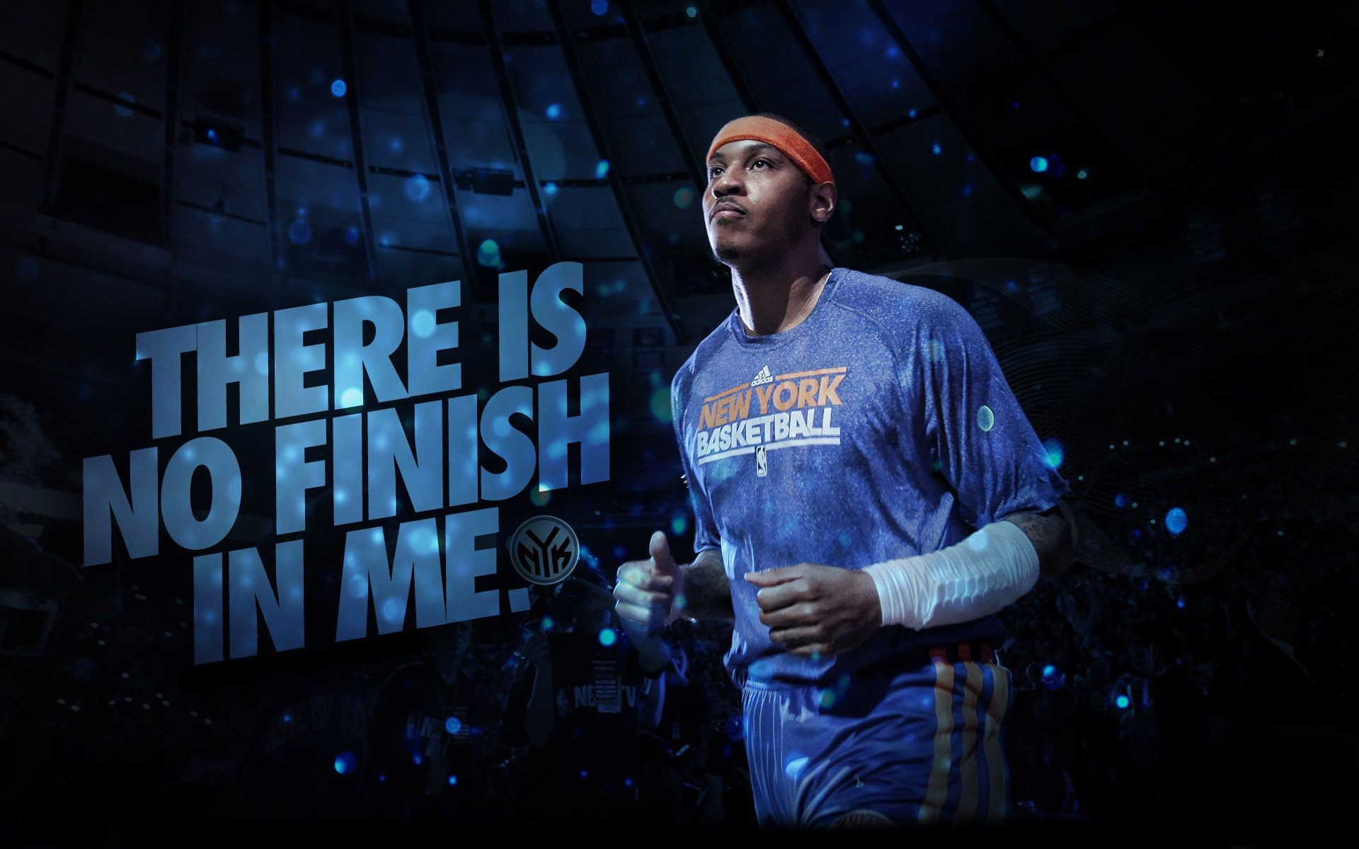1920x1200 Carmelo Anthony New York Knicks HD Background.