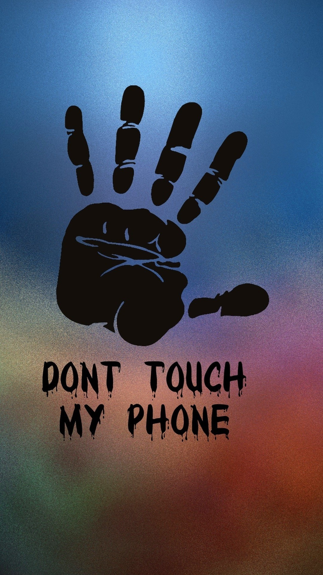 1080x1920 Tap to see more Don't Touch My Phone Android wallpapers, backgrounds,  fondos!