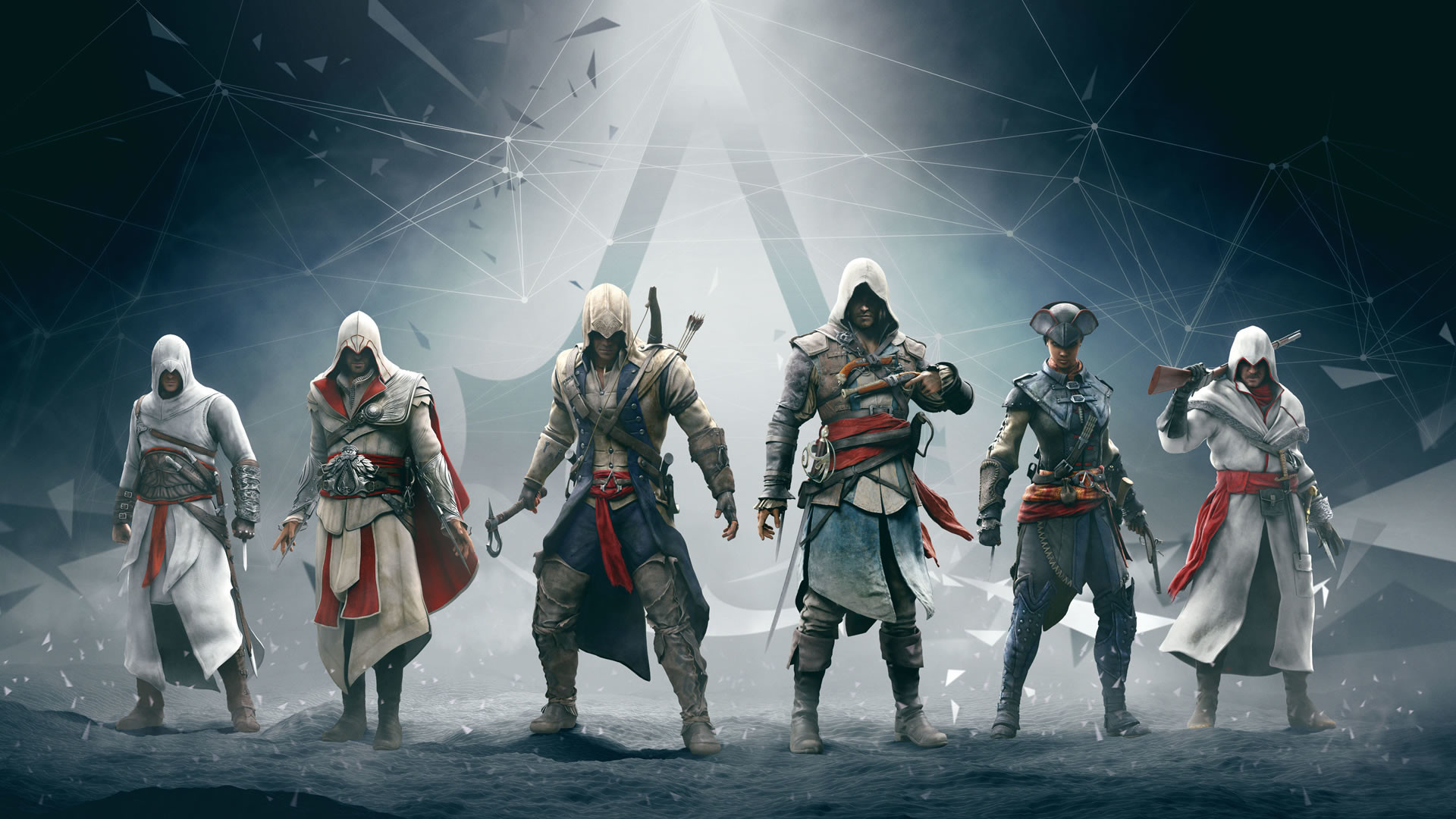 1920x1080 Computerspiele - Assassin's Creed Altair (Assassin's Creed) Ezio (Assassin's  Creed) Connor (