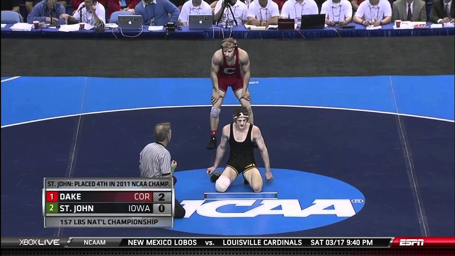 1920x1080 NCAA Wrestling National Championships Division 1 Kyle Dake vs Derek St John  - YouTube