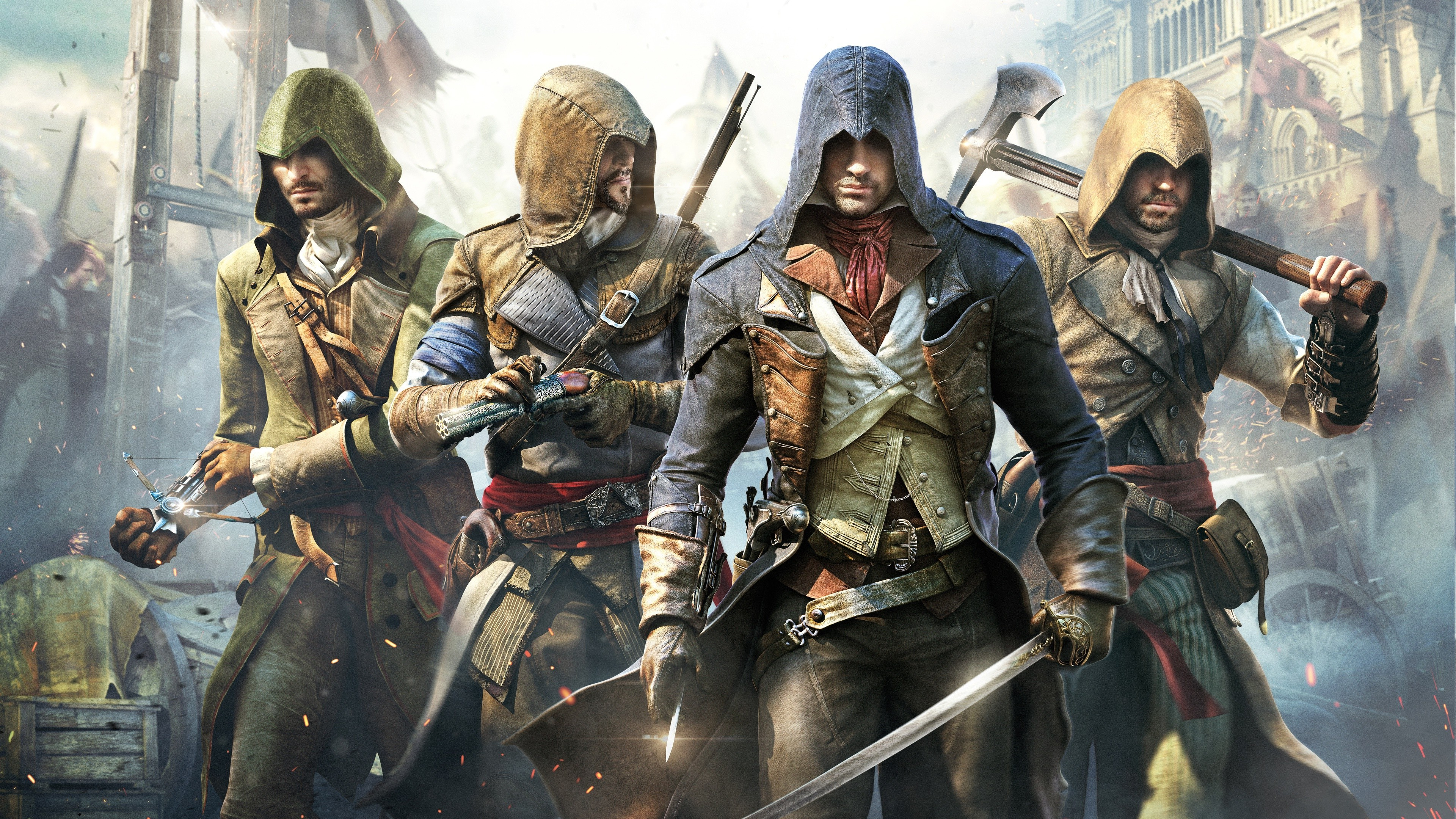 Assassins creed unity wallpapers 83 images - Assassin s creed unity wallpaper ...