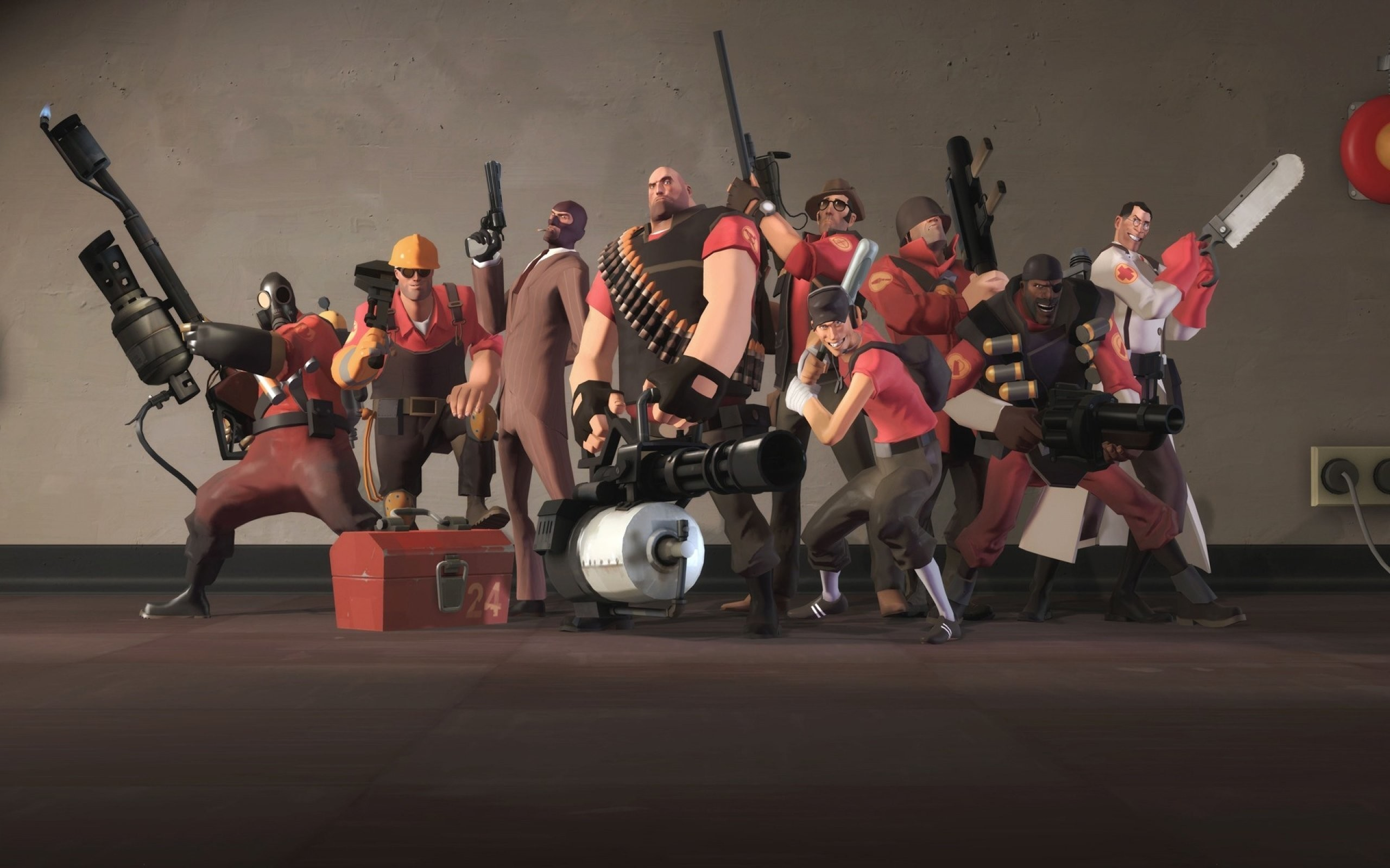 2560x1600 Image - Team Fortress 2 Background ...