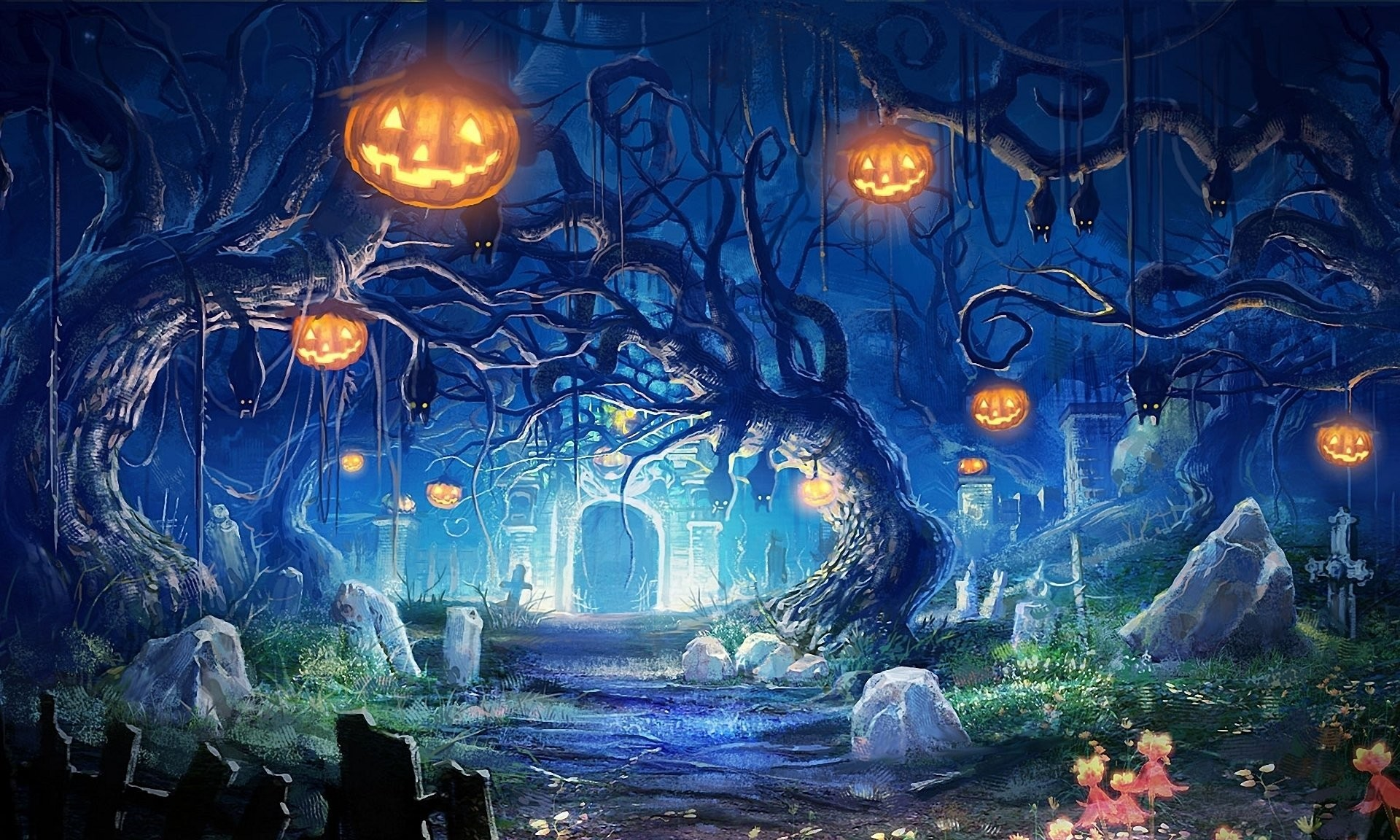 Res: 1920x1152, HD Wallpaper | Background ID:186301.  Holiday Halloween