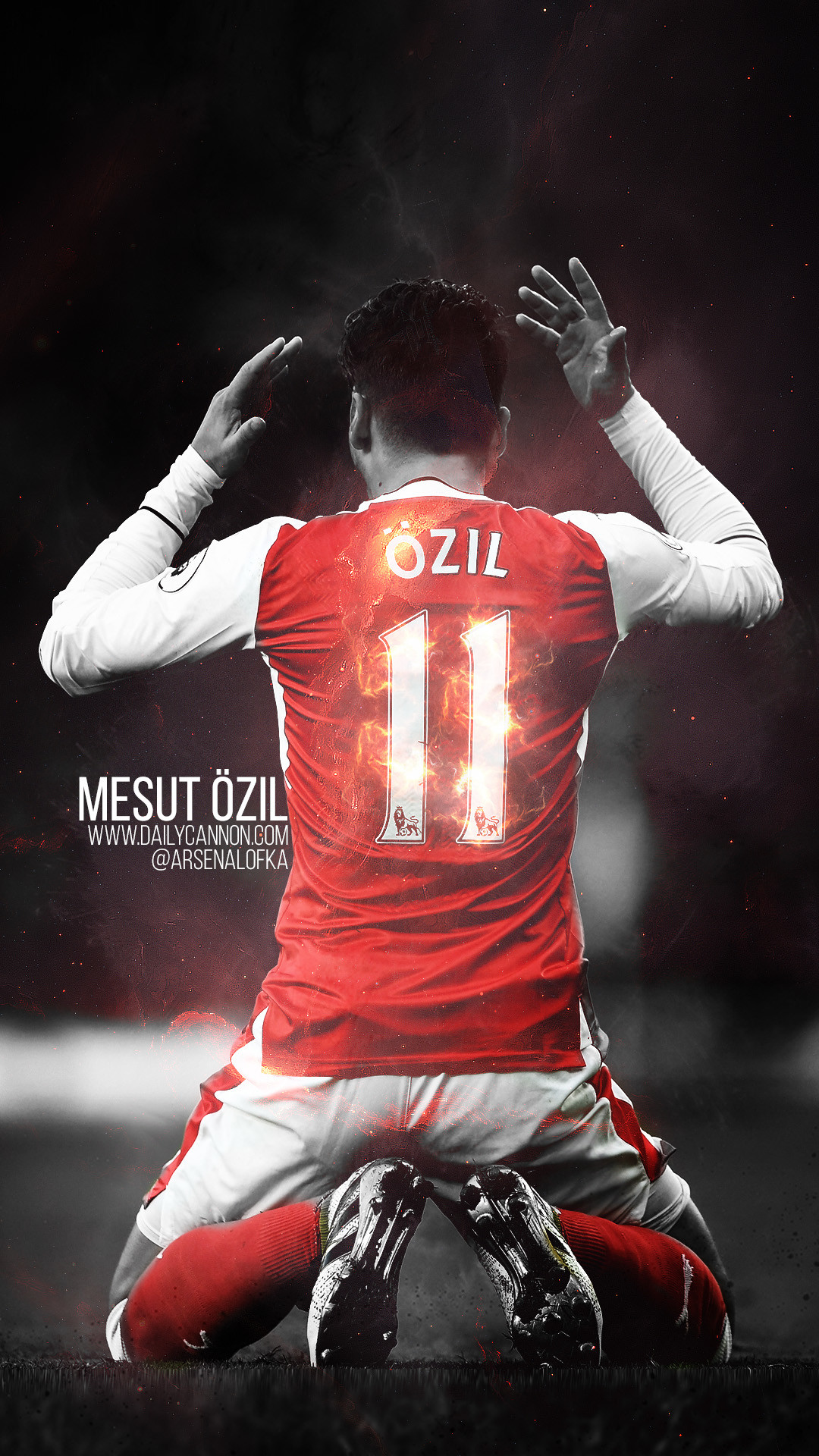 2560x1536 The Player Of Arsenal Mesut Ozil Is Happy After Victory