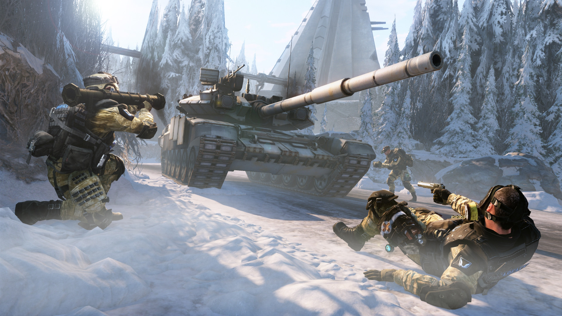 1920x1080 Warface Update Brings First Siberia Map into Play Today