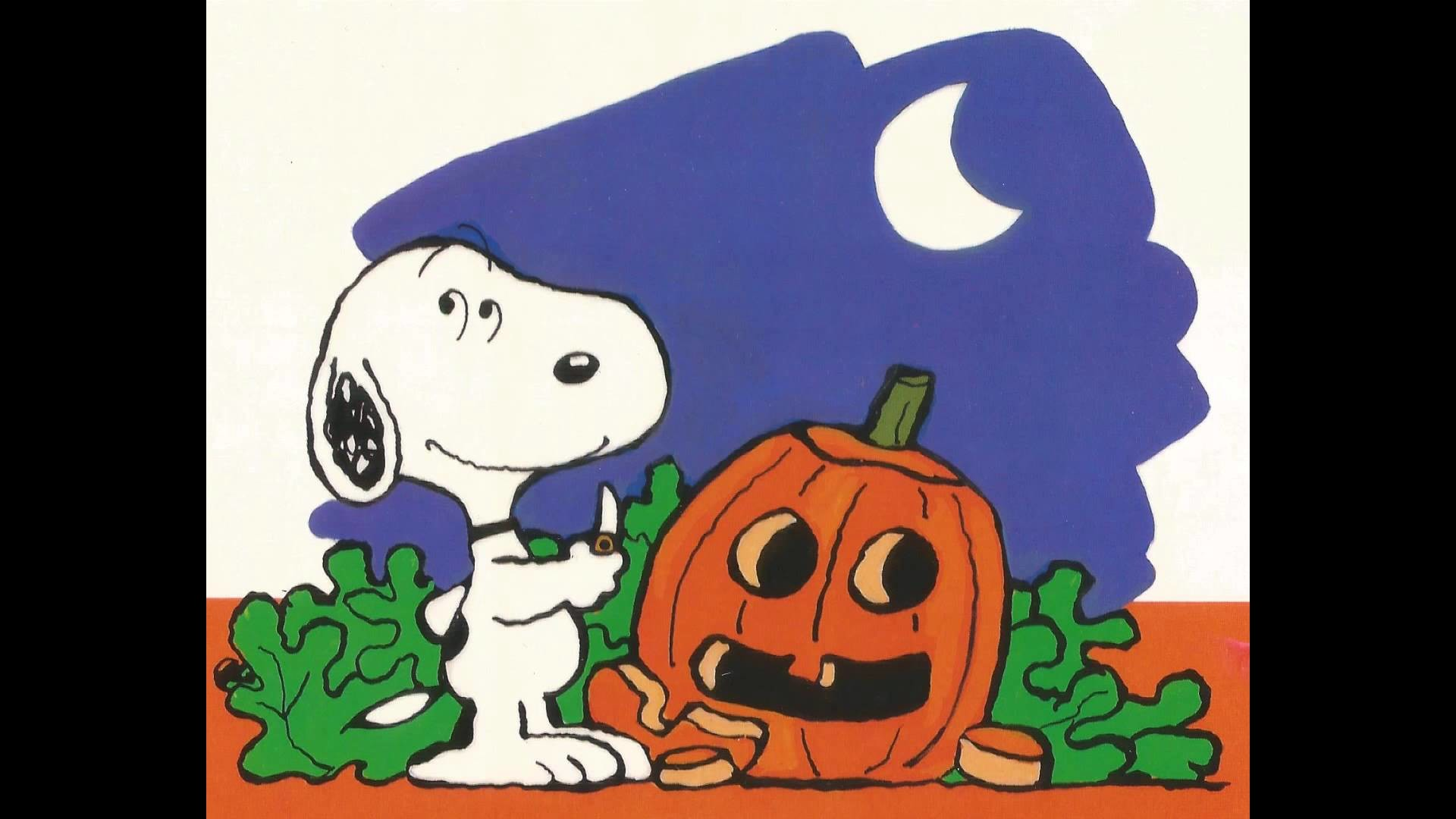 1920x1080 Snoopy: The Great Pumpkin