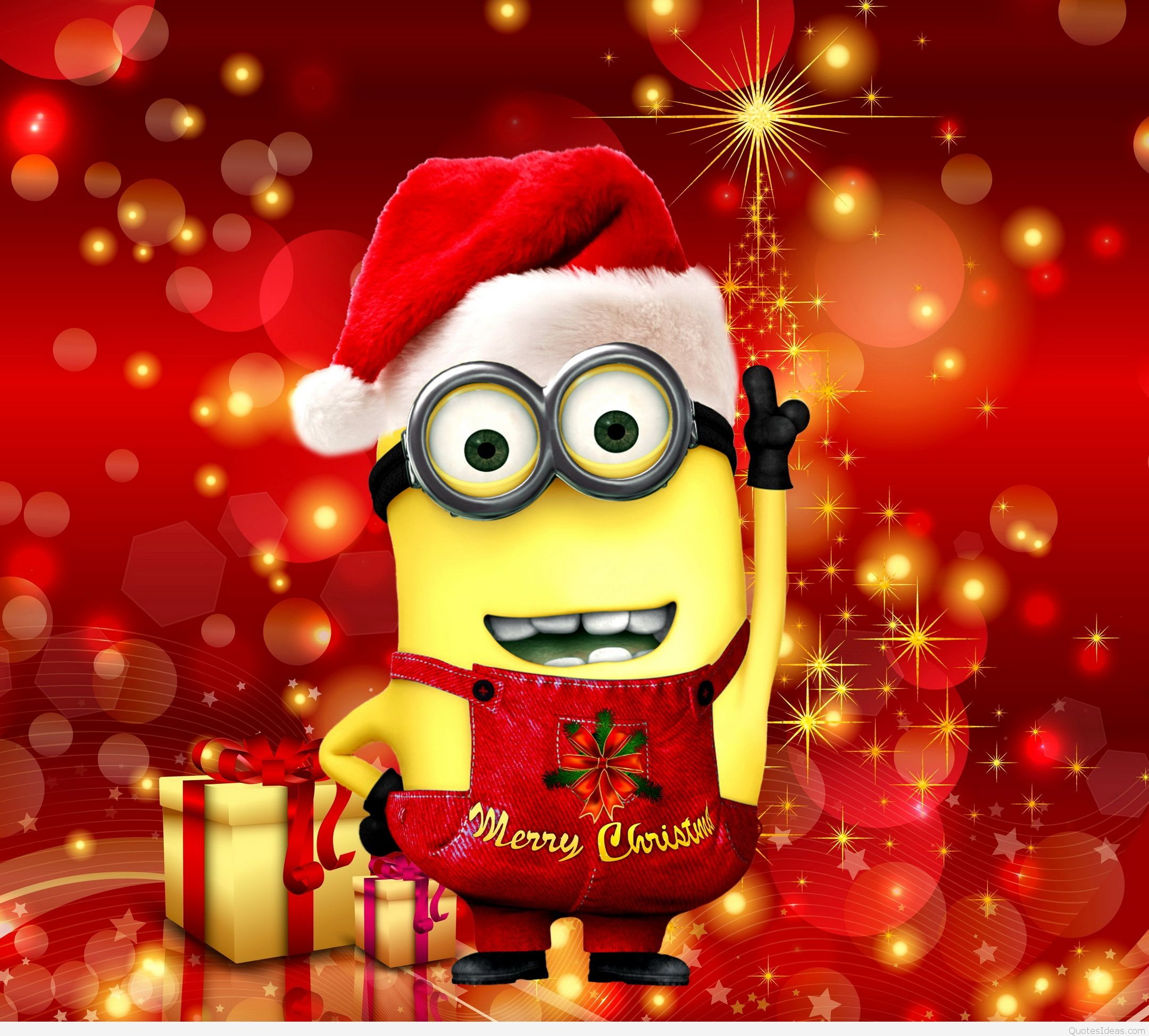 Minion Christmas Wallpaper (61+ Images