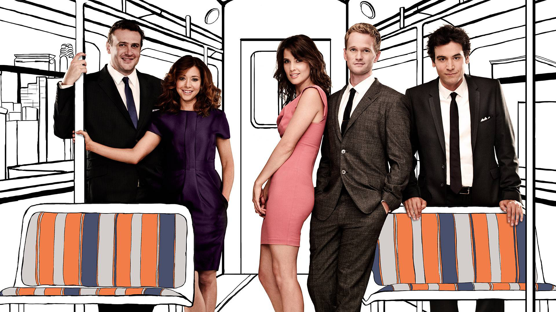1920x1080 TV Show - How I Met Your Mother Lily Aldrin Alyson Hannigan Barney Stinson  Neil Patrick