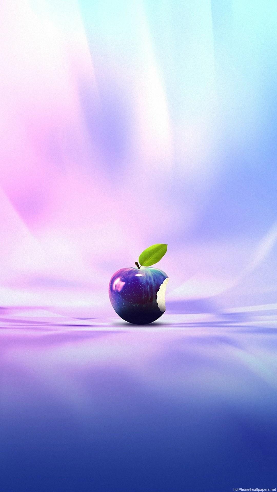 0e6ffbfc3e8 1080x1920 1080x1920 colorful apple rainbow purple iPhone 6 wallpapers HD -  6 Plus backgrounds