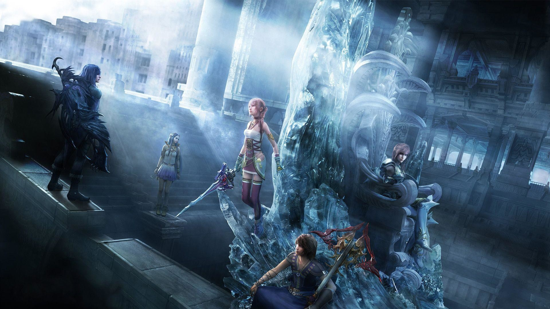 1920x1080 Wallpapers For > Final Fantasy 13 2 Wallpaper Hd