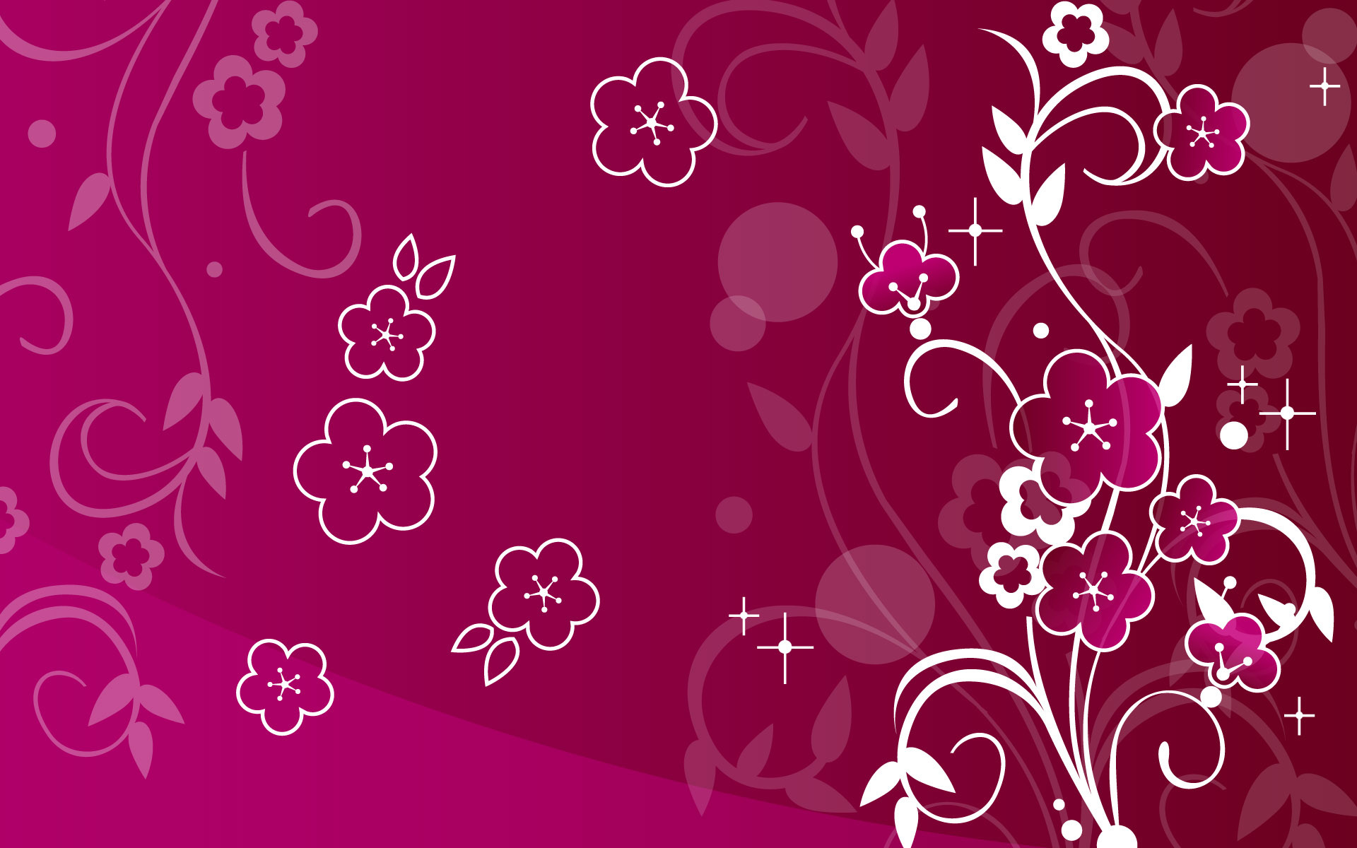 1920x1200 Pink Butterfly Backgrounds | Wallpaper, abstract, flowers, sparkly, pink -  612511