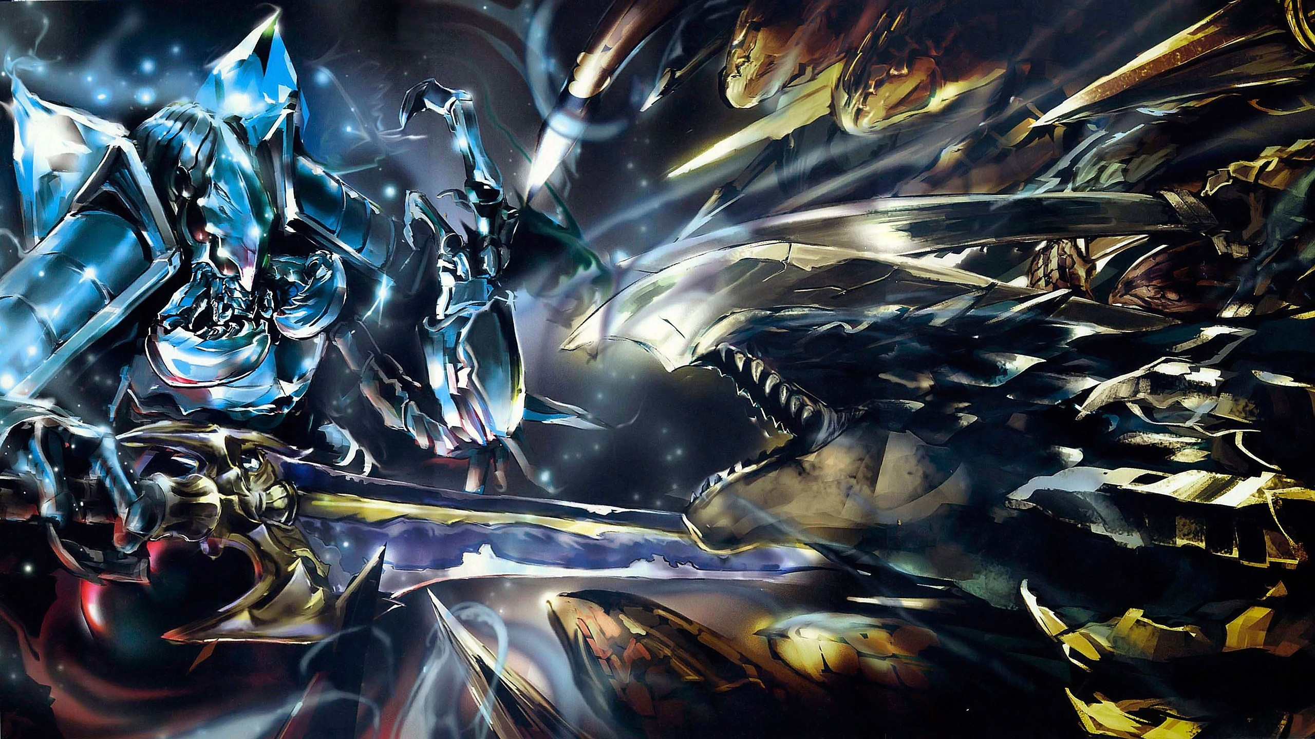 2560x1440 Anime Overlord Ainz Ooal Gown Overlord Wallpaper | Overlord | Pinterest |  Anime, Wallpaper and Manga
