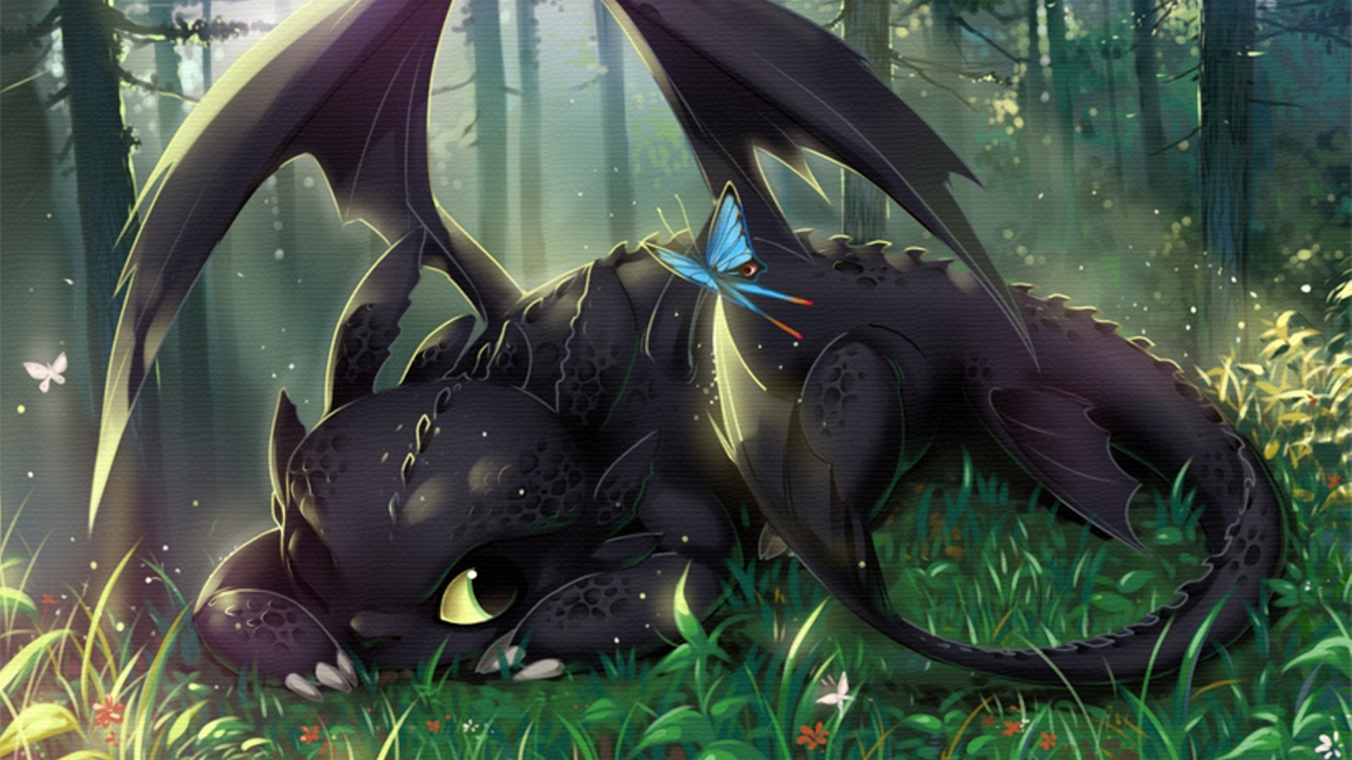 Toothless wallpaper hd 75 images - How to train your dragon hd download ...