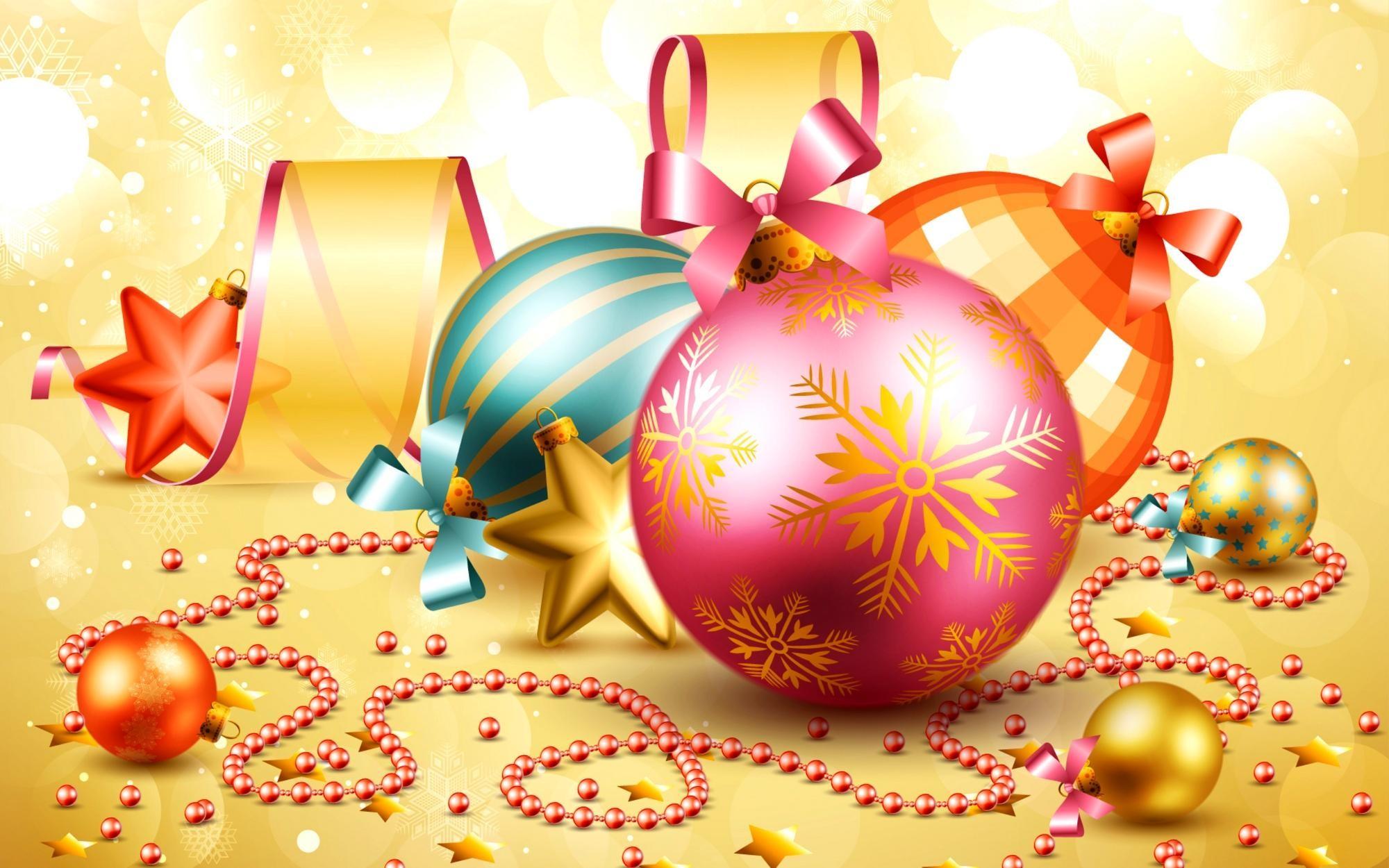 Christmas Ornaments Wallpaper for Desktop (80+ images)
