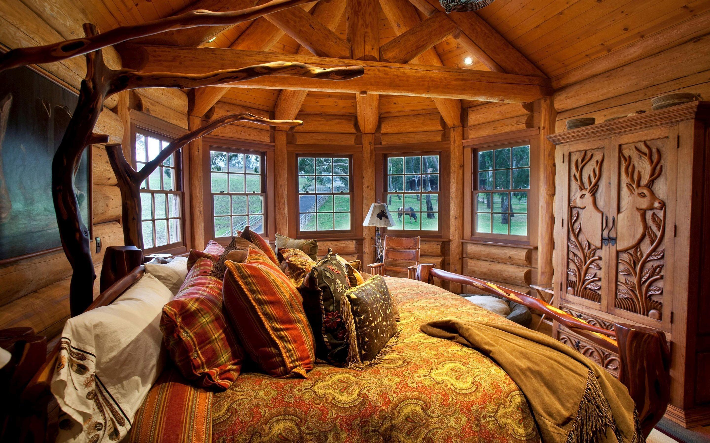 Log Cabin Wallpaper (61+ images)