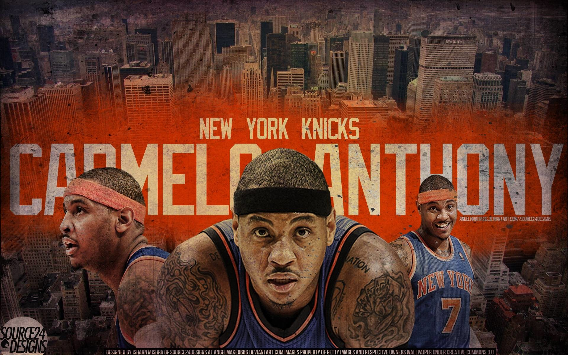 1920x1200 Carmelo Anthony NYC Wallpaper by Angelmaker666 on DeviantArt