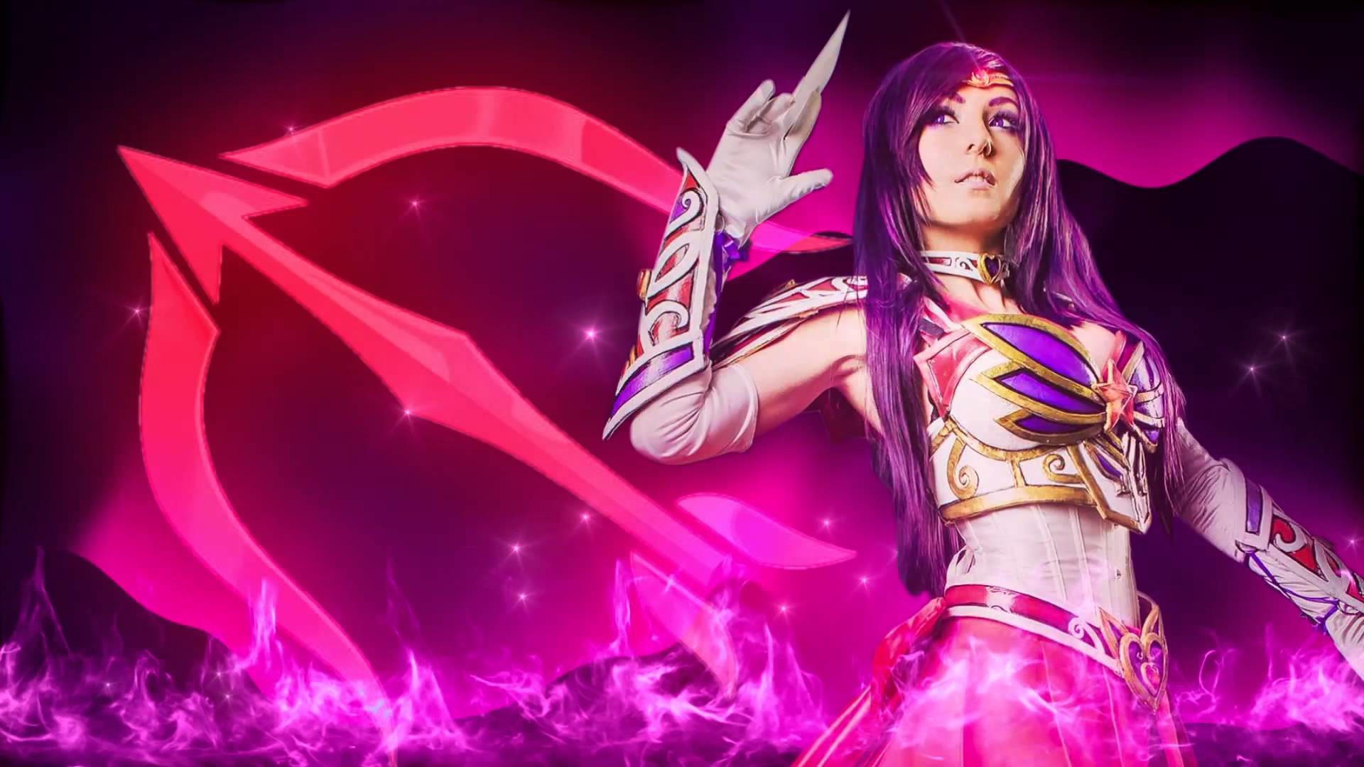 1920x1080 Jessica Nigri is SAILOR MARS!