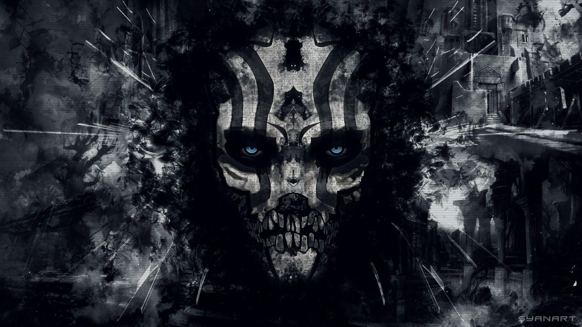 Gothic Skull Wallpaper 52 Images