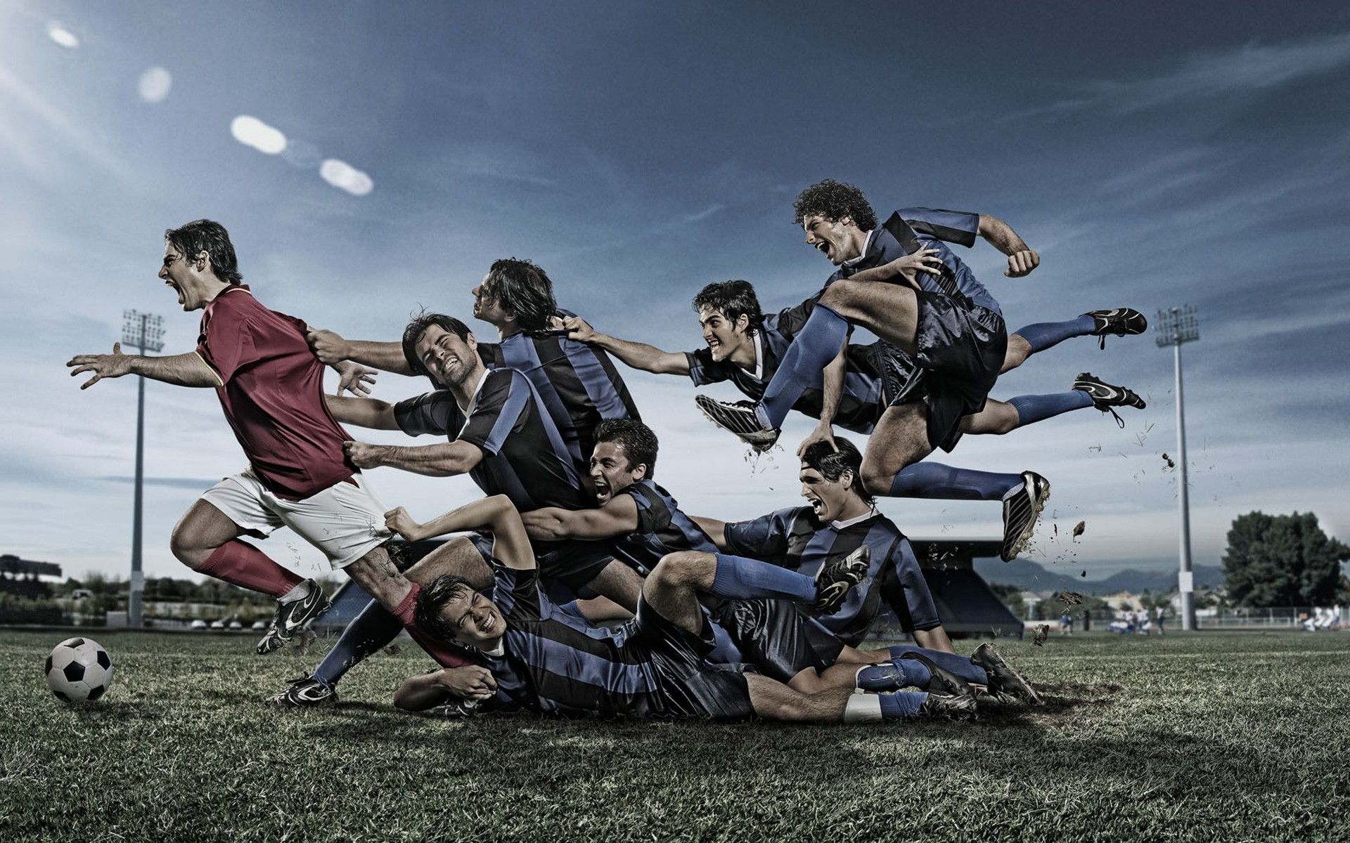1920x1200 Image: Football Team wallpapers and stock photos. Â«