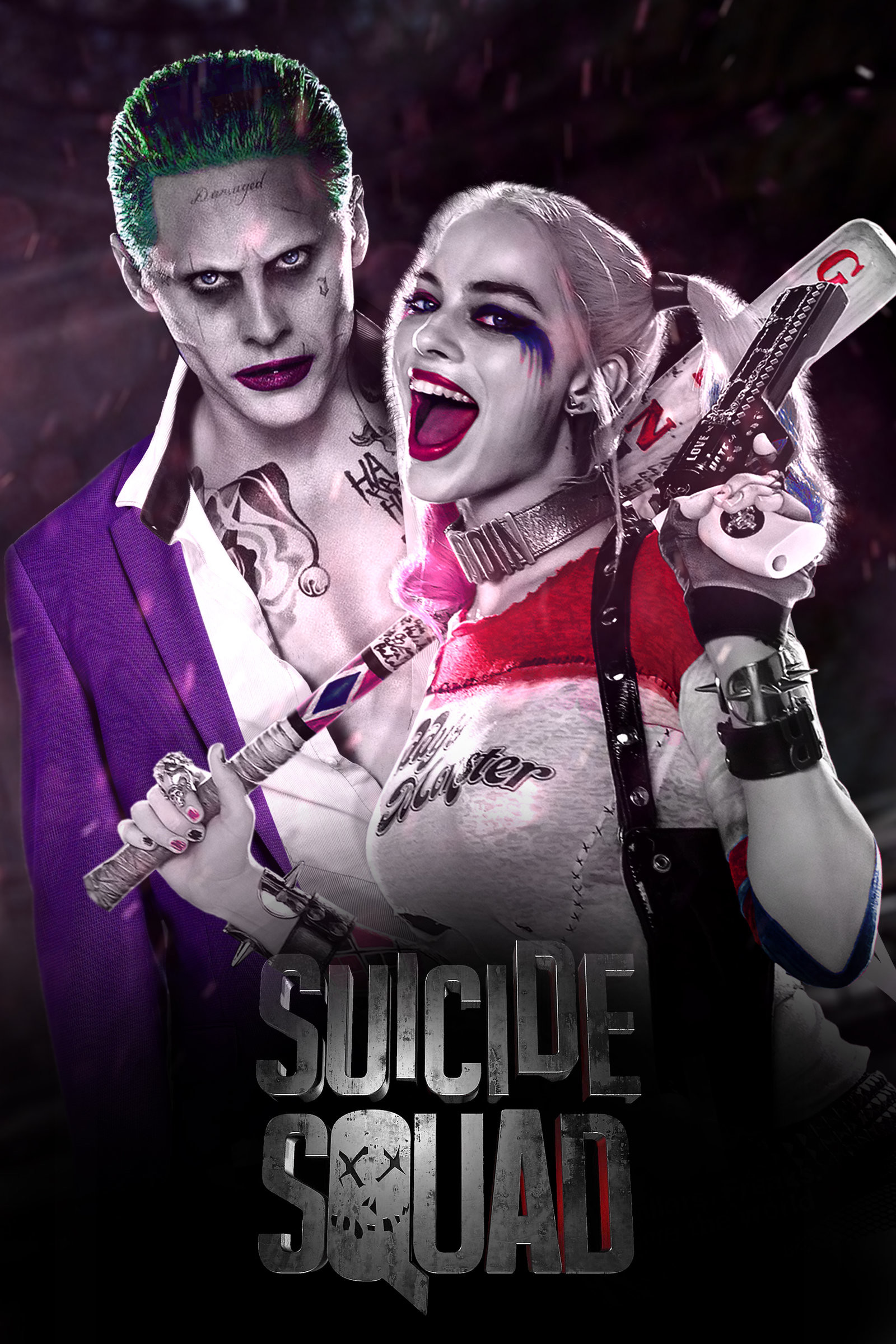 1600x2400 Suicide Squad - Joker and Harley Quinn by jhonaphone on DeviantArt