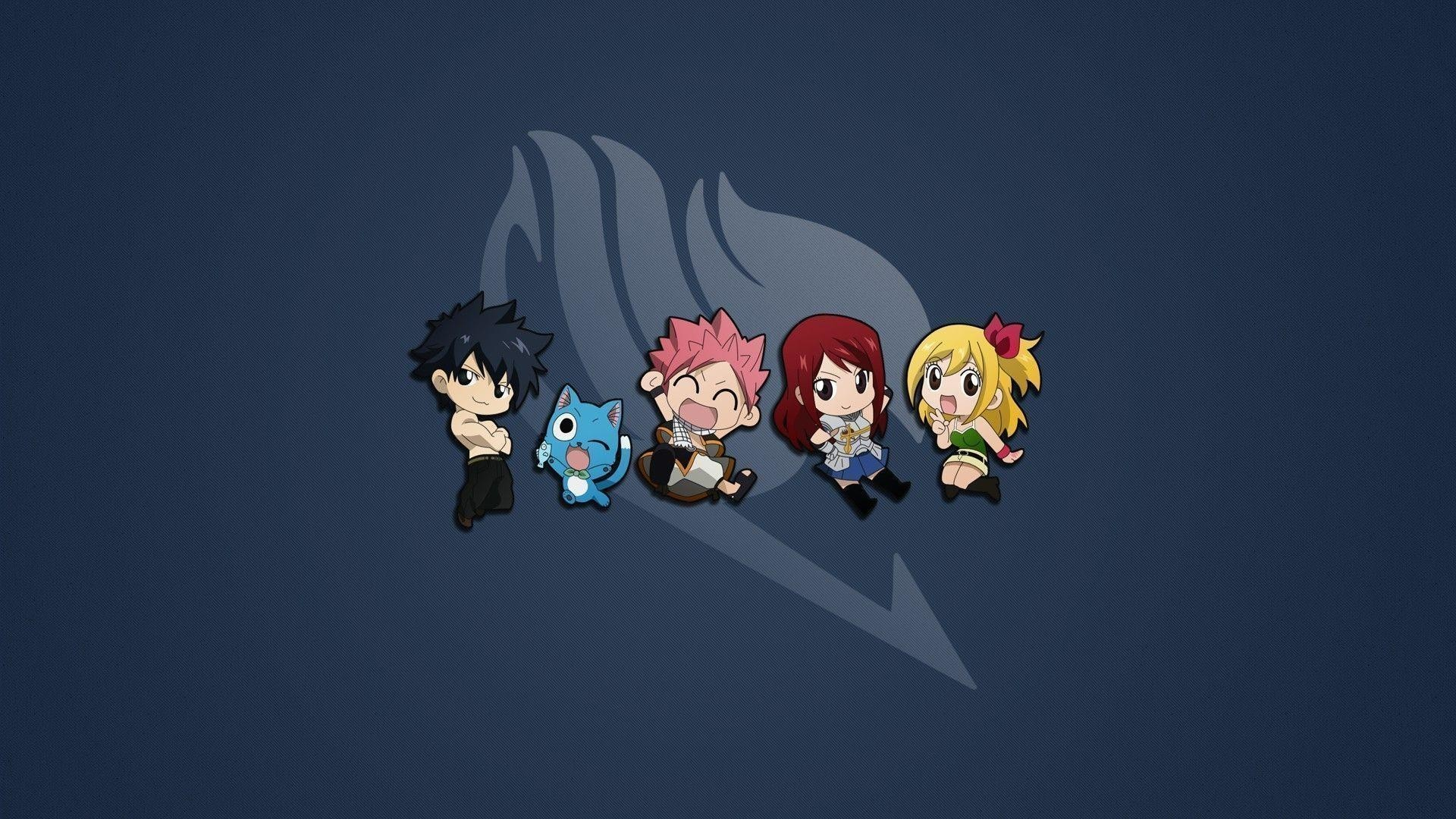 1920x1080  cute-fairy-tail-characters-14381 Fairy Tail wallpaper HD free .