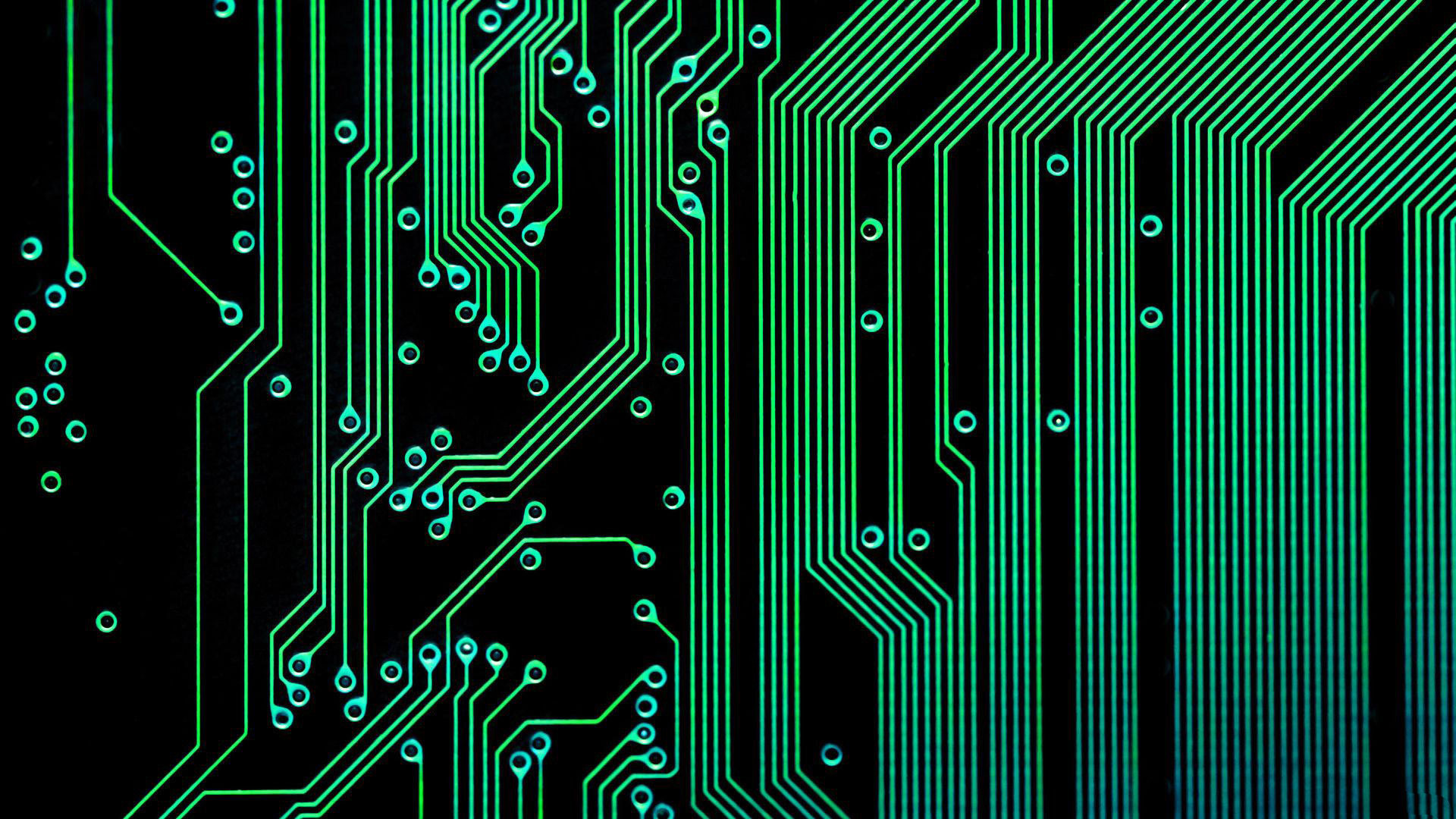 Neon Circuits Wallpaper And Background Image: Electronic Wallpaper Background (59+ Images