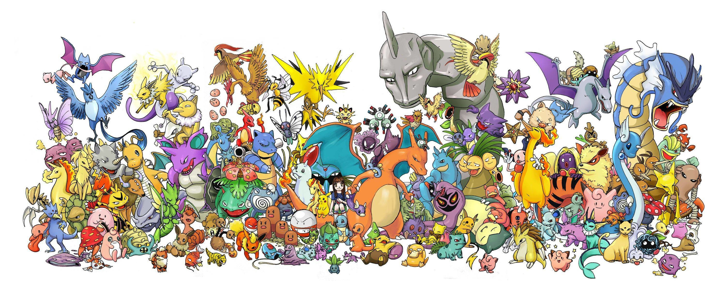 3000x1210 All Pokemon Wallpapers