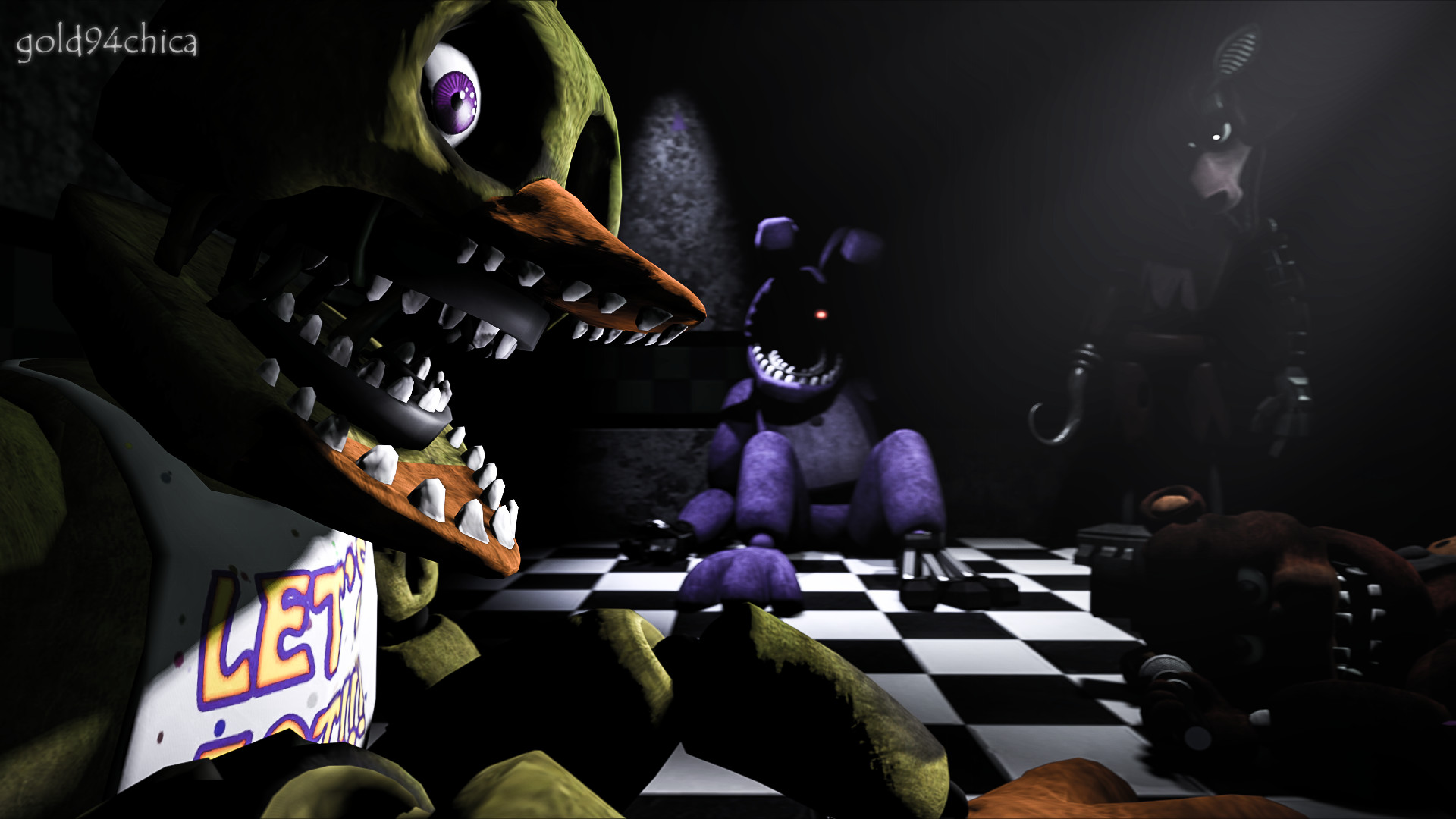1920x1080 (SFM FNAF2 Wallpaper) by .