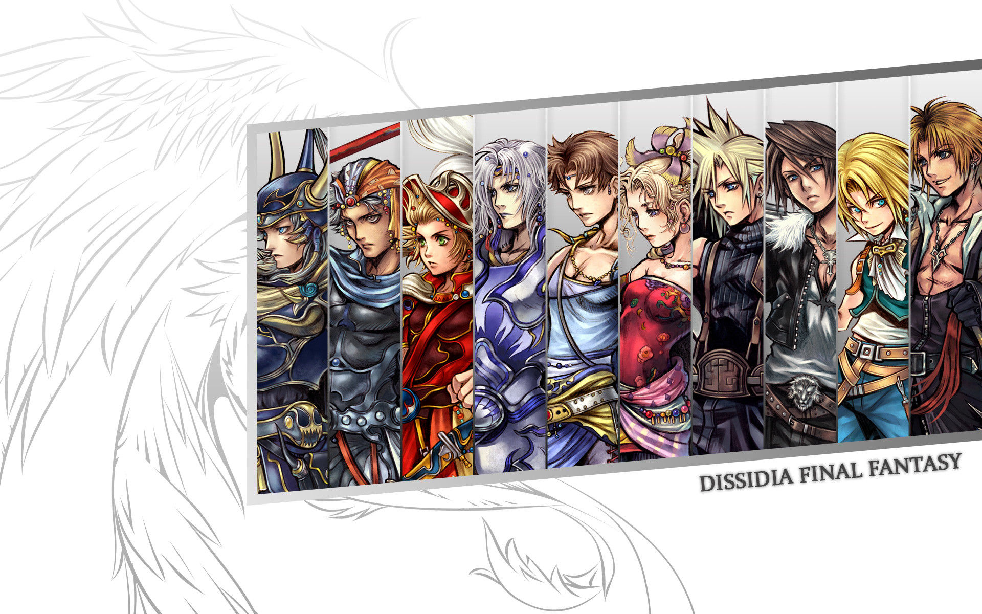 1920x1200 Dissidia Final Fantasy wallpapers