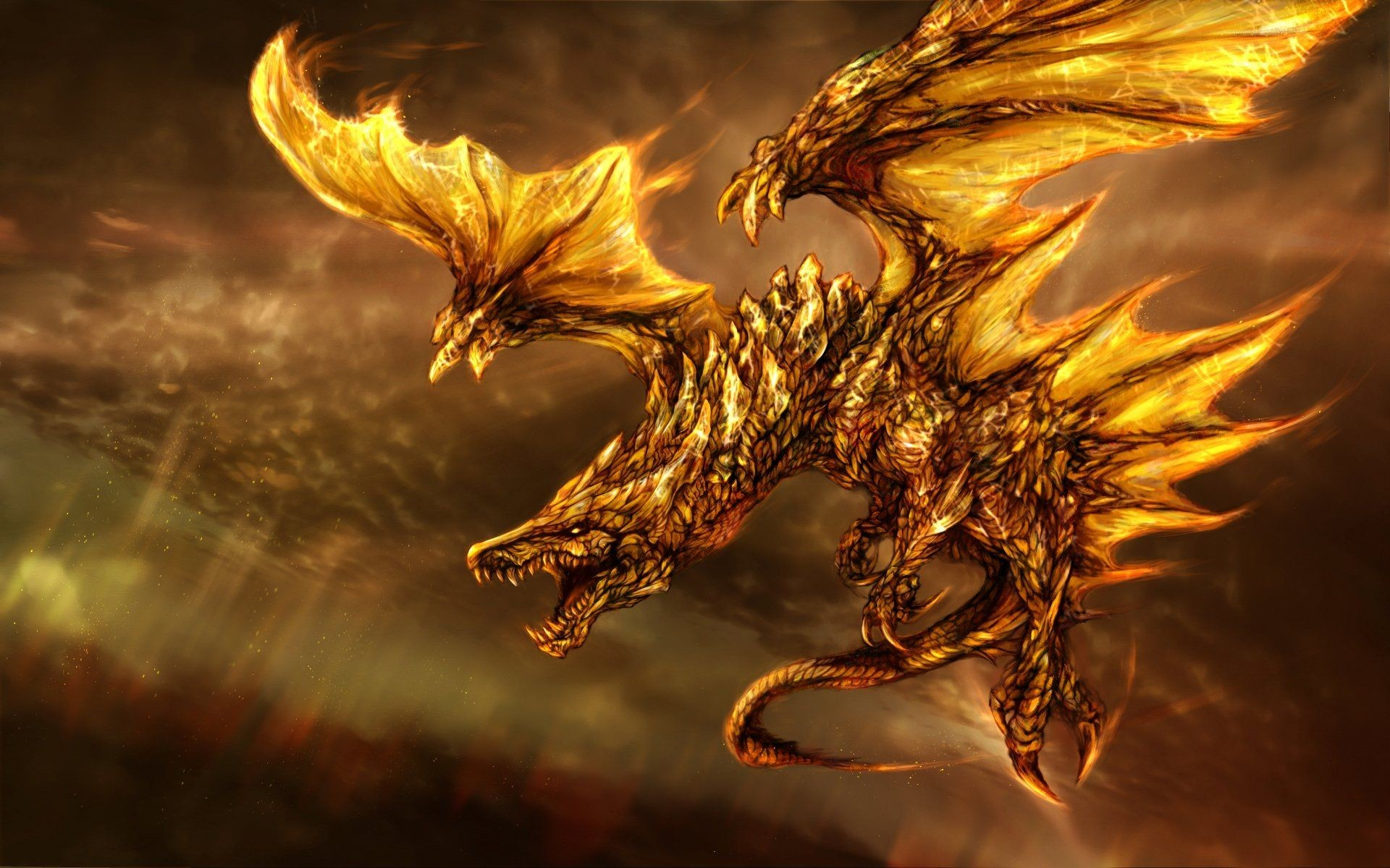 1920x1200 Free Dragon Screensavers And Wallpapers - Wallpaper Cave