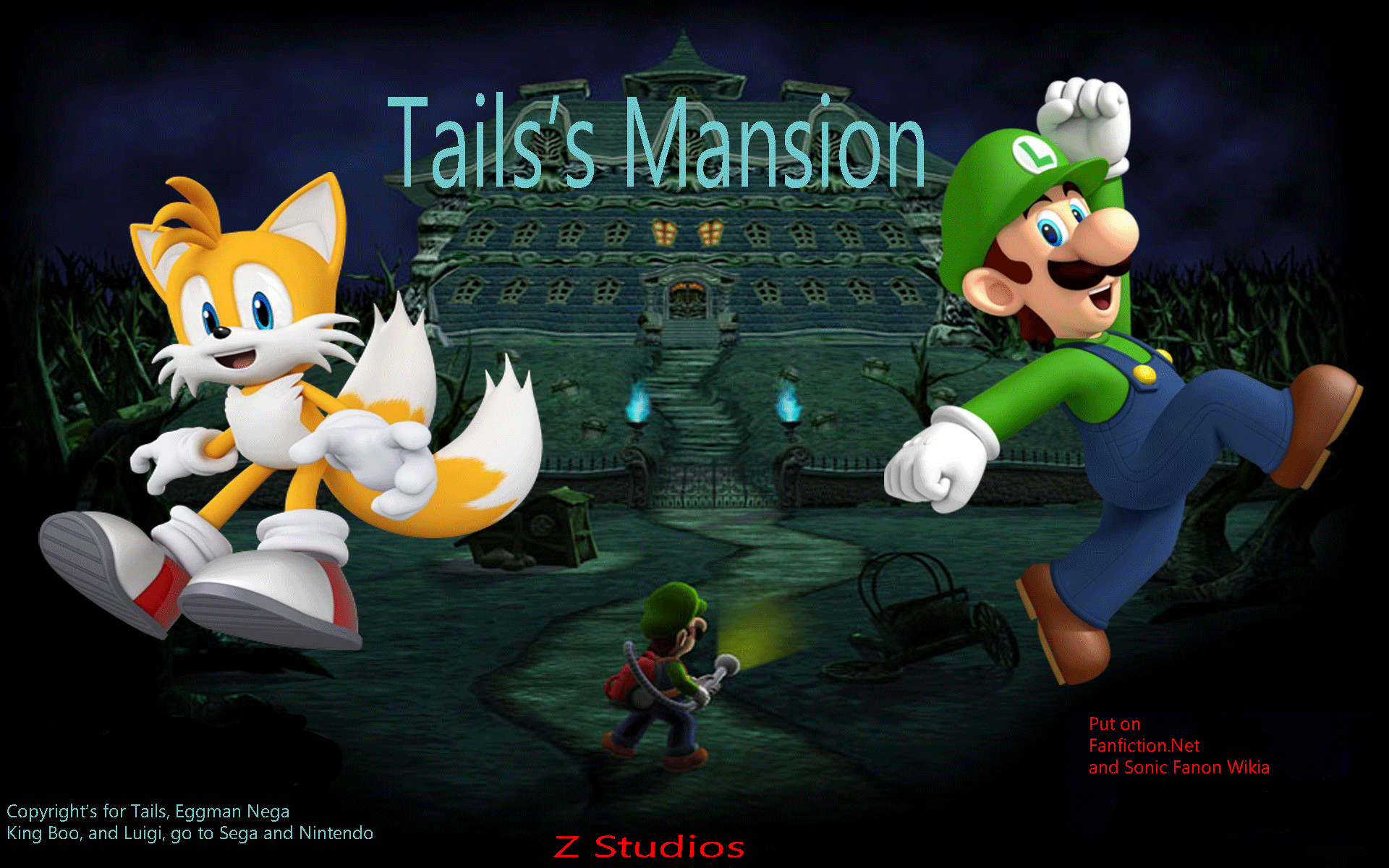 1920x1200 Image - Tails's-Mansion-Wallpaper-a.png | Super Mario Fanon | FANDOM  powered by Wikia