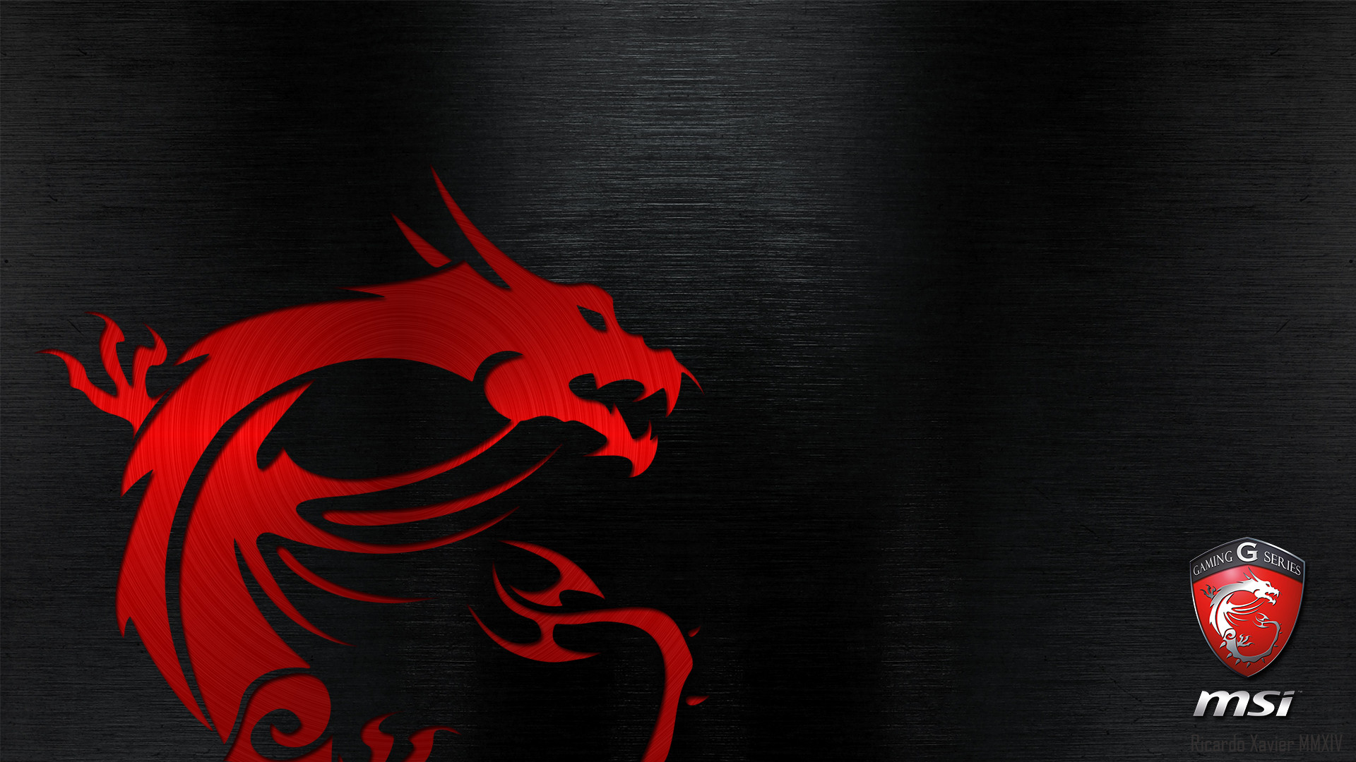 1920x1080 MSI Gaming Series Dragon Wallpaper by RicardoXavier on DeviantArt