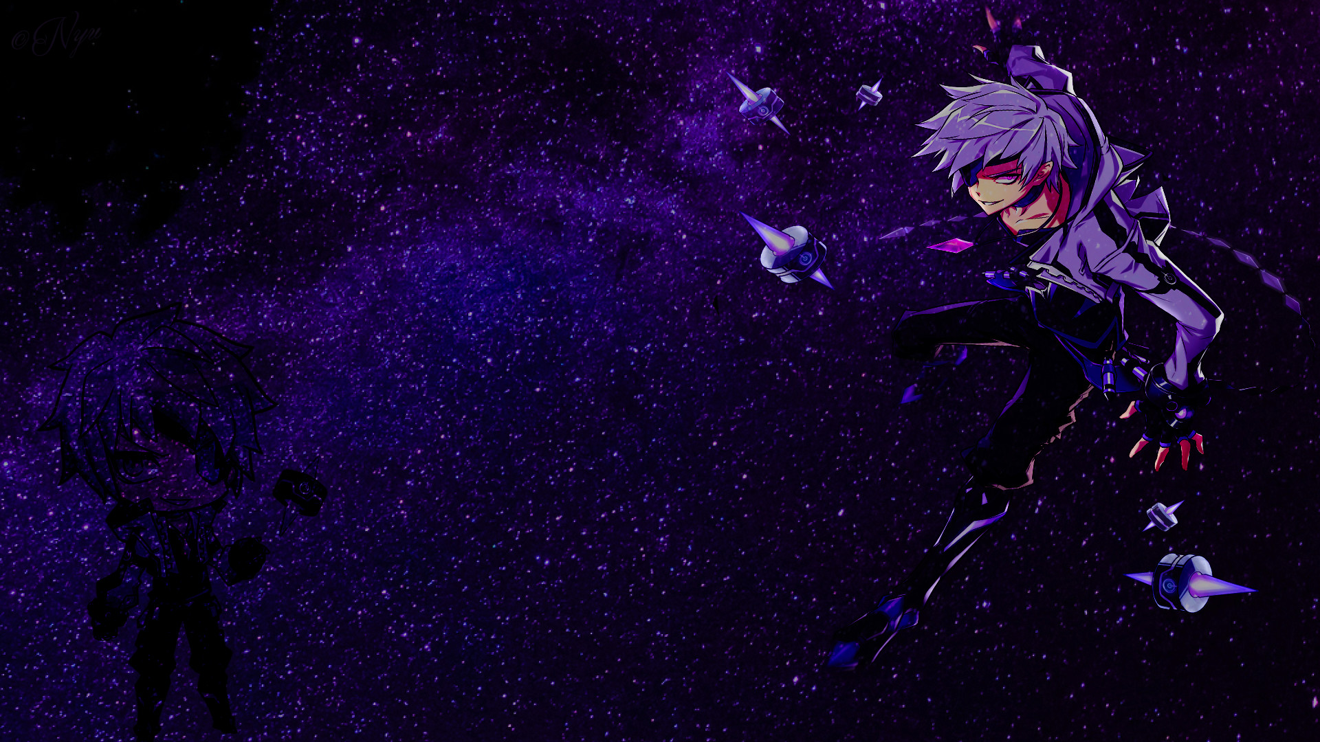 1920x1080 ... Elsword Add - Time Tracer by Nyanashii