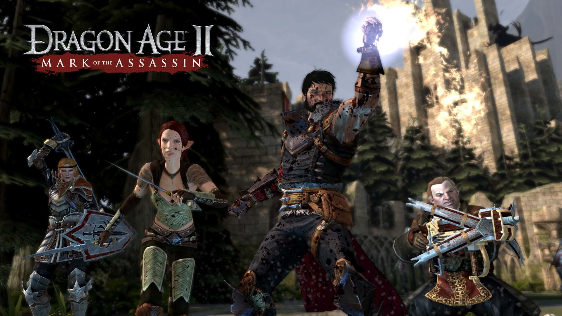 1920x1080 The upcoming Dragon Age II: Mark of the Assassin DLC launches October 11th  for PS3, Xbox 360 and PC.