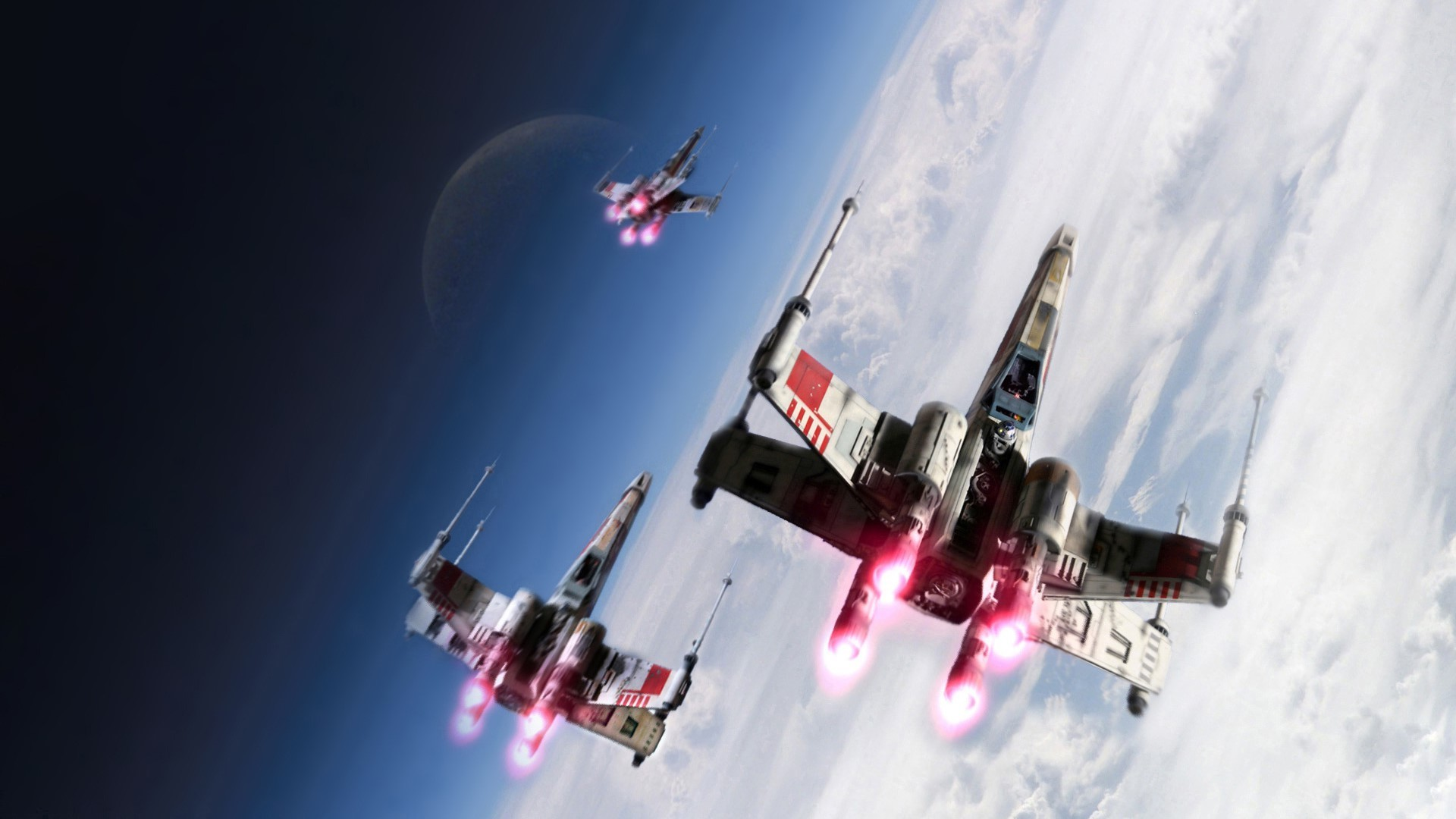 1920x1080 Star Wars Force Awakens XWing Wallpaper by HD Wallpapers Daily 1920×1080 X  Wing Wallpaper