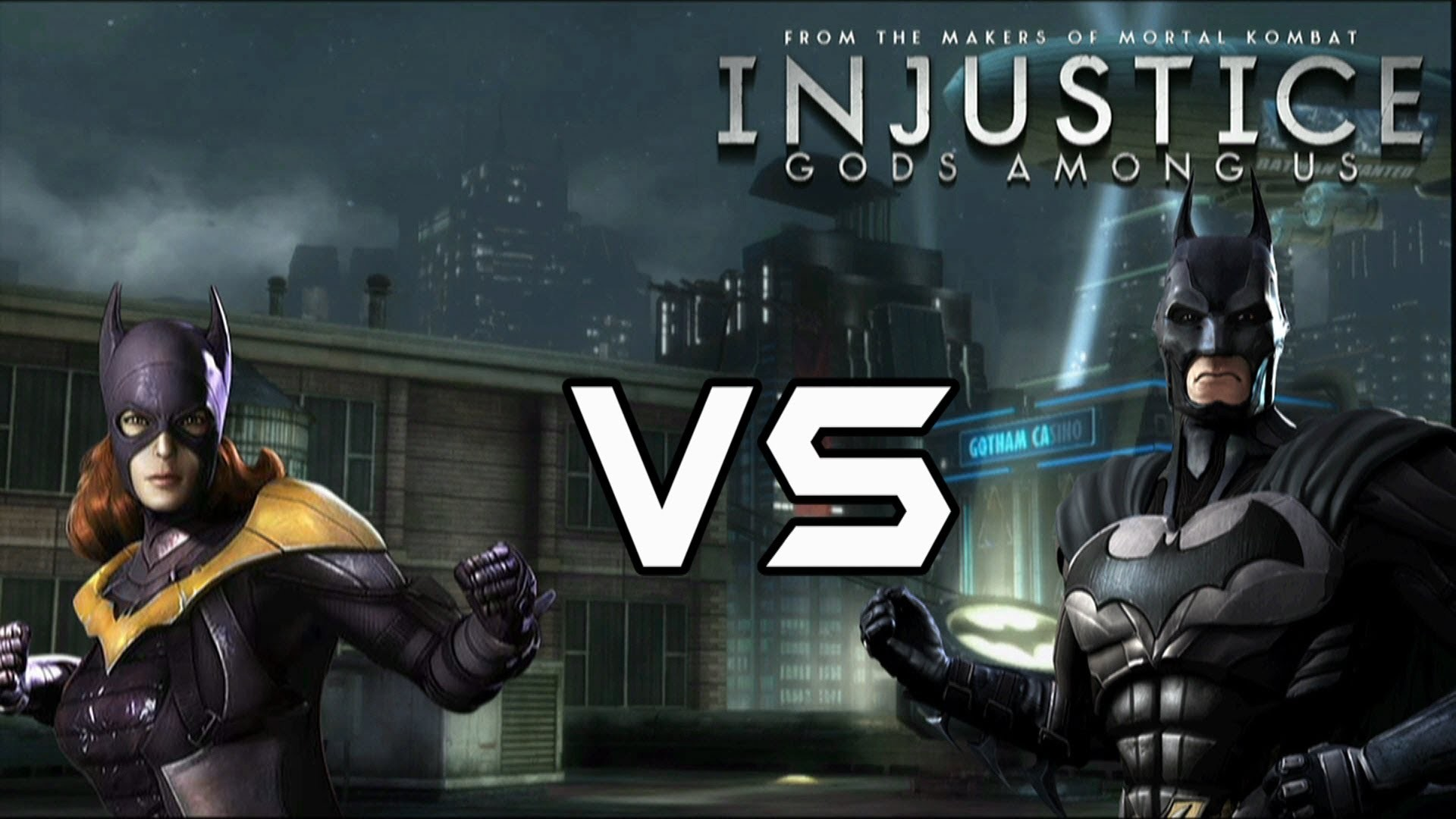 1920x1080 Injustice Gods Among Us - Batgirl Vs Bat Family with Lore & Skins - YouTube