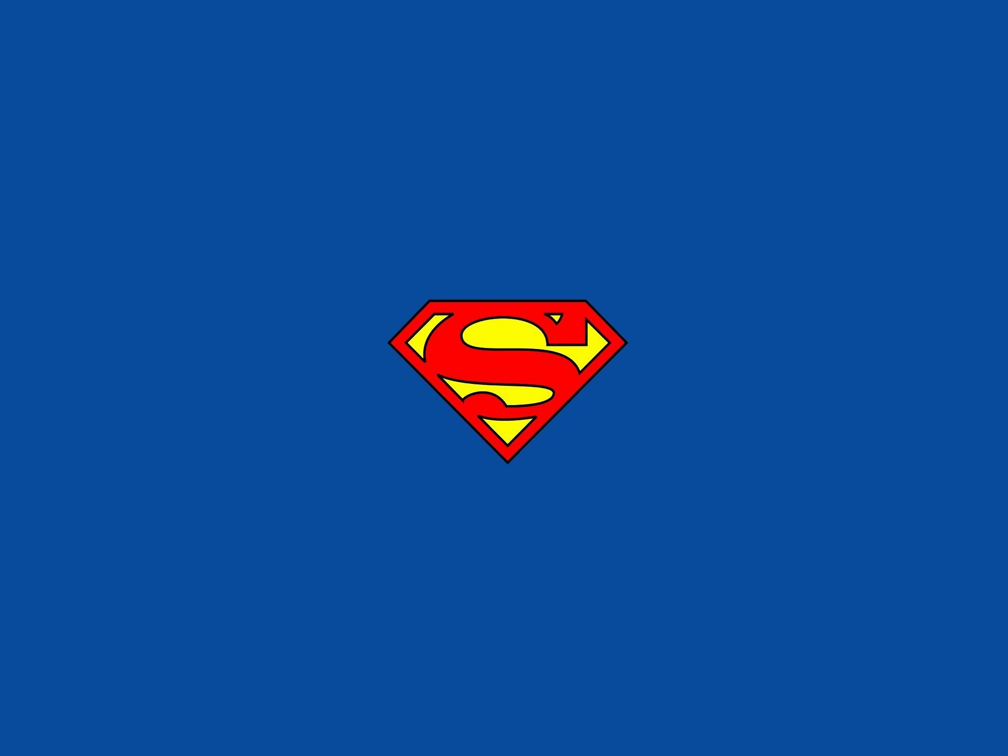 2048x1536 Superman Logo Wallpapers Hd As Wallpaper HD